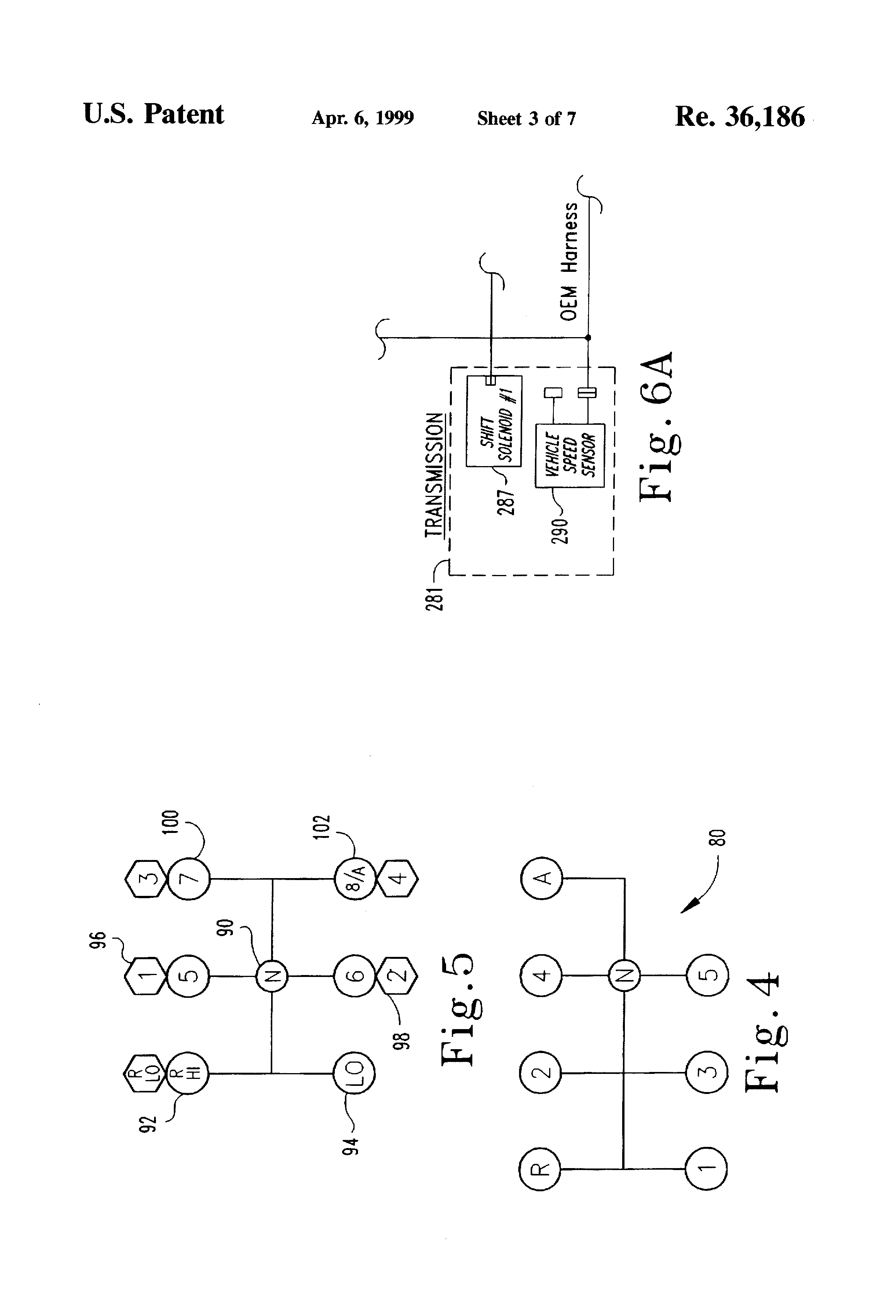 USRE36186 3 patent usre36186 method and device for controlling critical eaton autoshift wiring diagram at creativeand.co