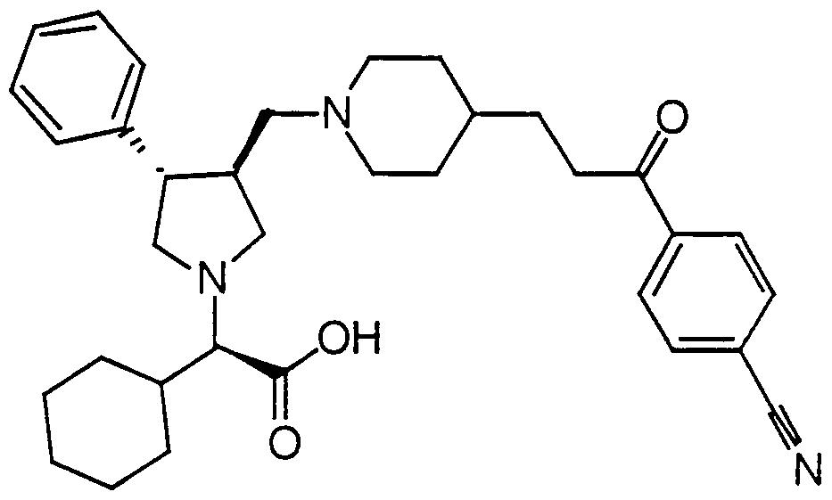 wo2000059497a1 pyrrolidine modulators of chemokine receptor Quote Template figure imgf000041 0002