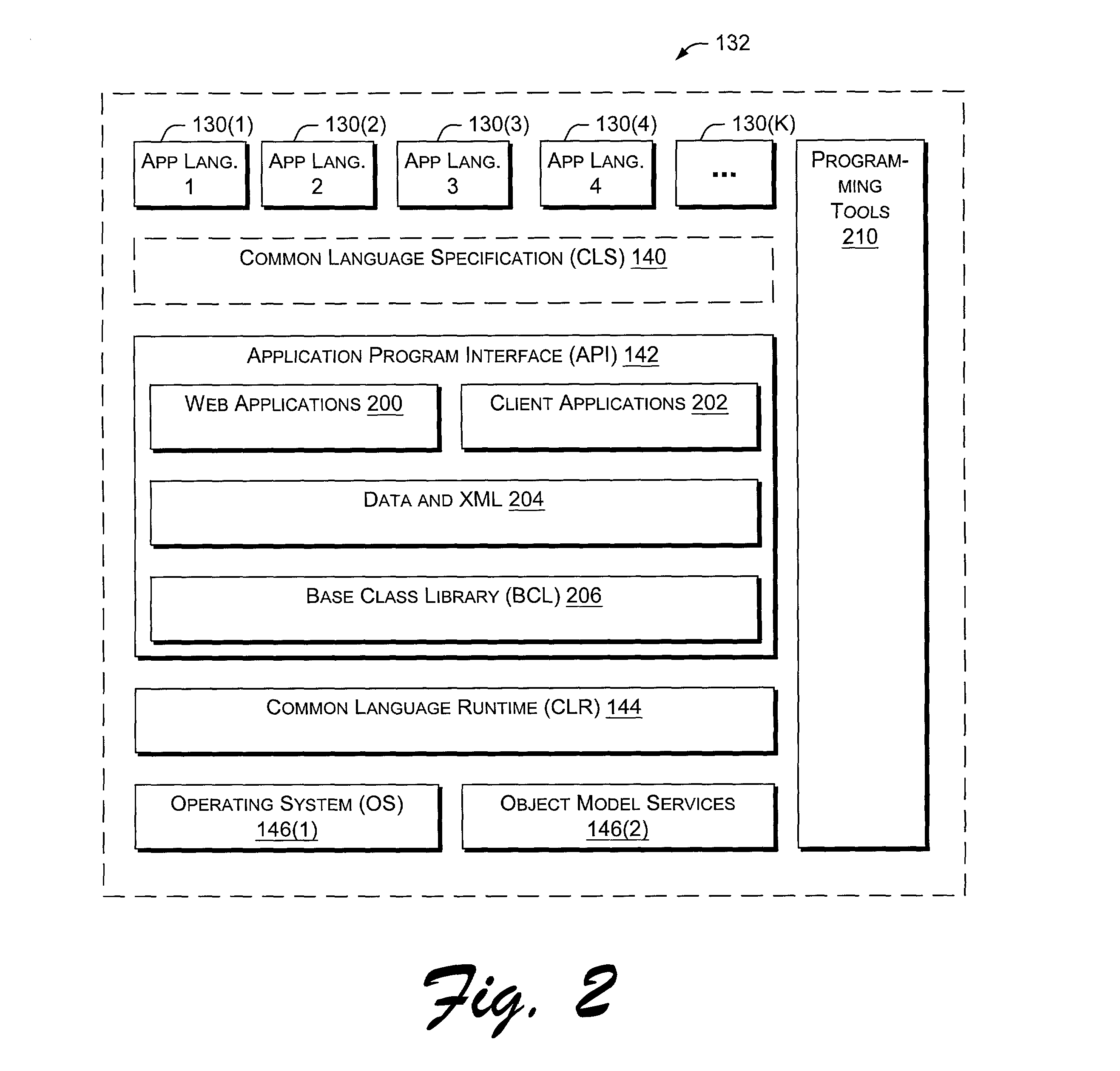 US20030167355A1 - Application program interface for network software