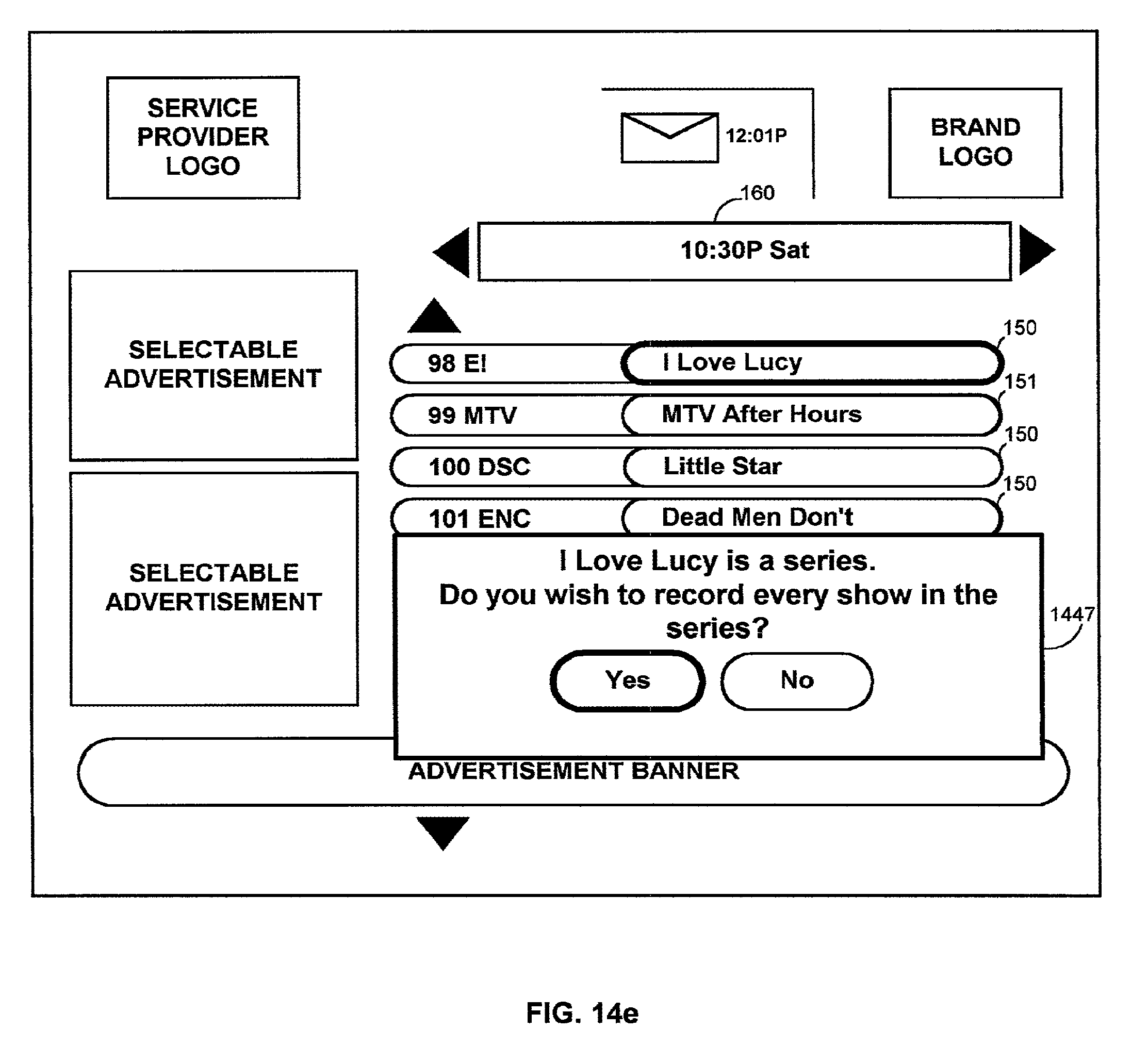 US B2 Interactive guide with recording Google Patents