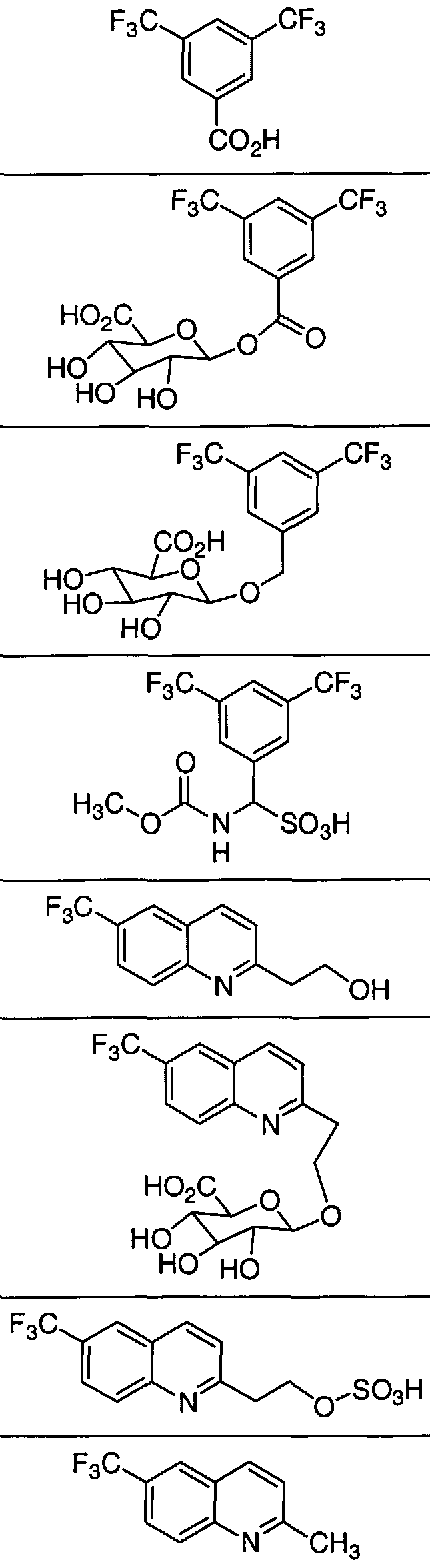 WO2005033082A2 - Cetp inhibitors and metabolites thereof