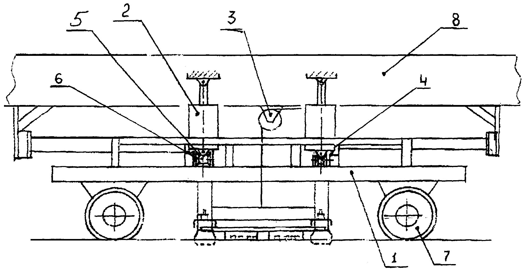RU37345U1 - Autonomous suspension defectoscopic trolley - Google Patents