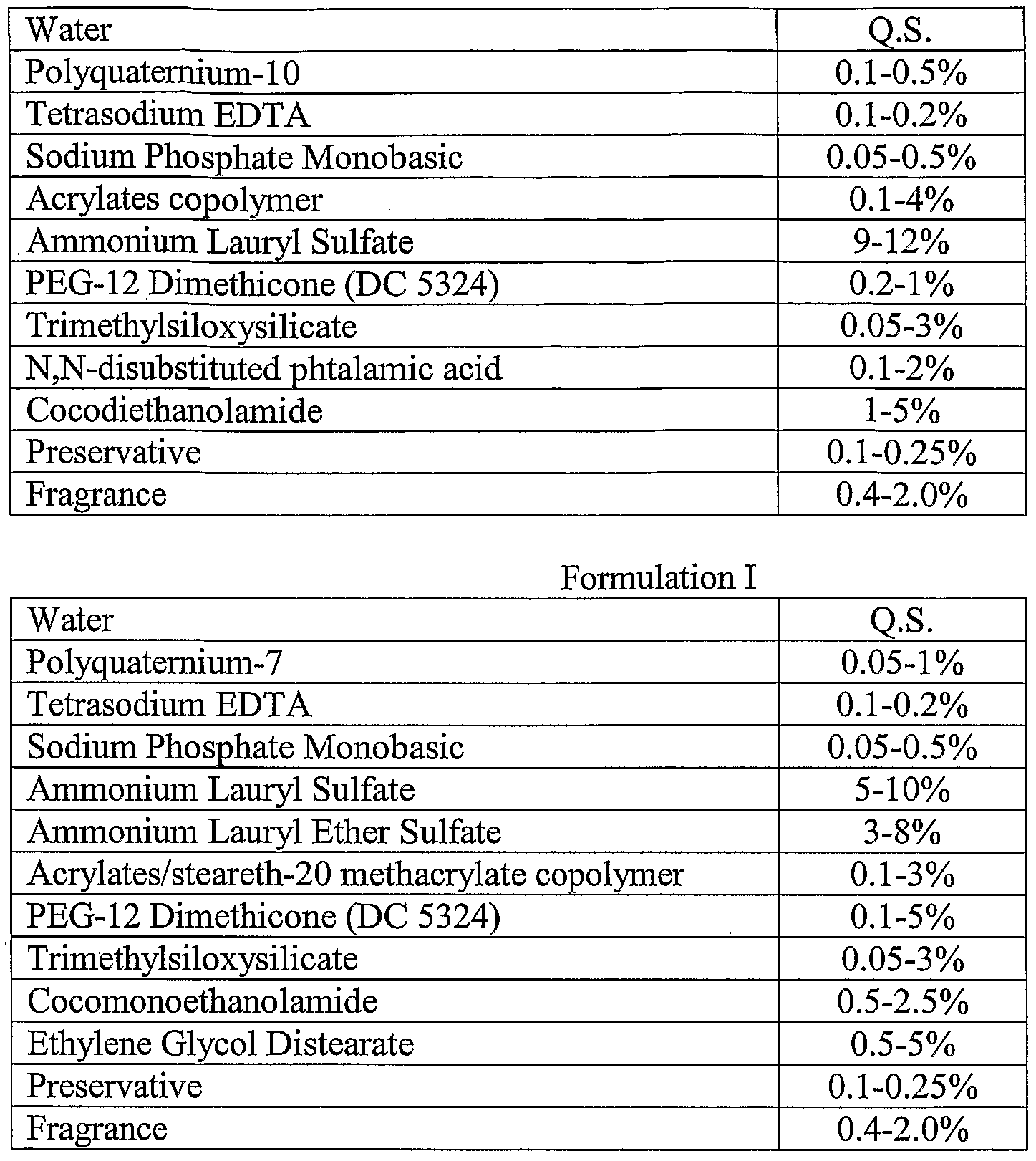 WO2006044296A1 - Conditioning shampoos with detergent soluble
