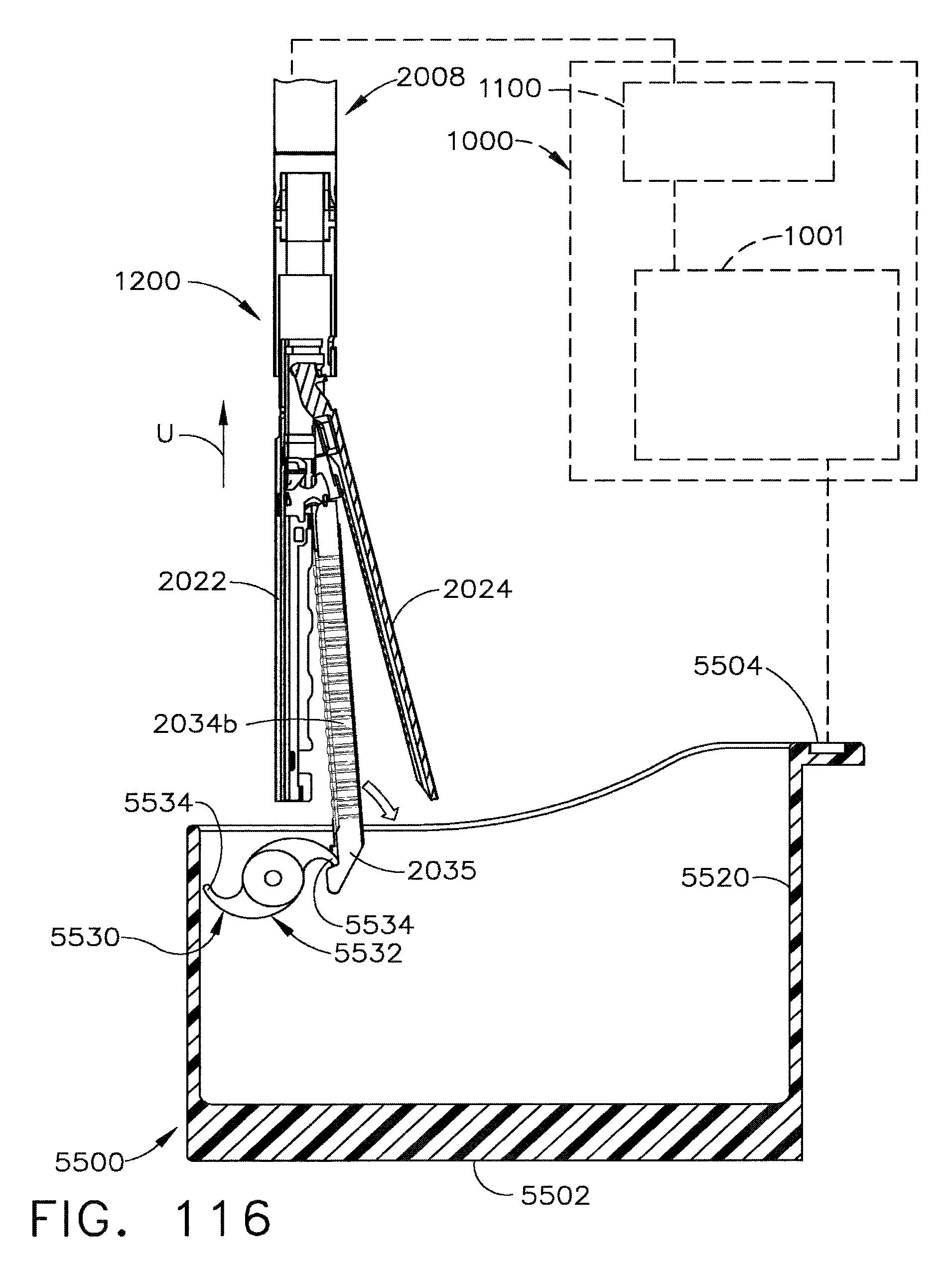 US9095339B2 - Detachable motor powered surgical instrument