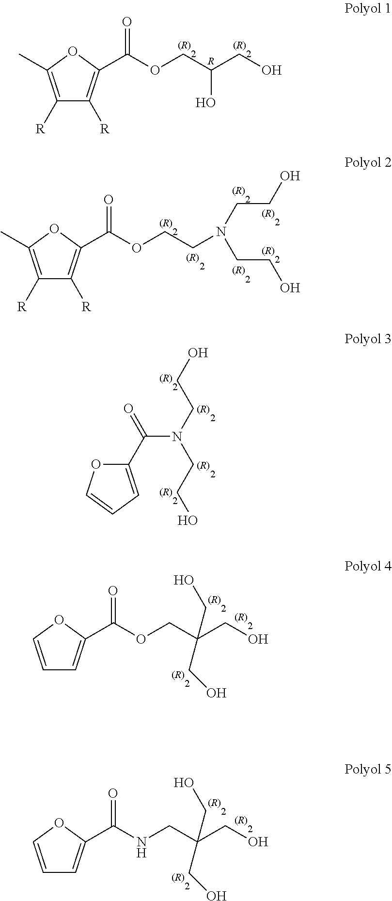 US9290698B2 - Biobased polyols for potential use as flame retardants