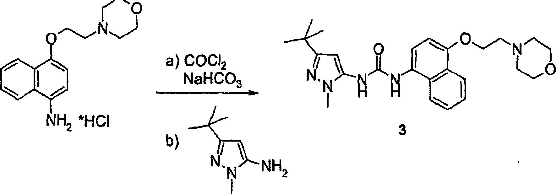 DE60319066T2 - 1,4-disubstituted benzo-fused cycloalkyl urea