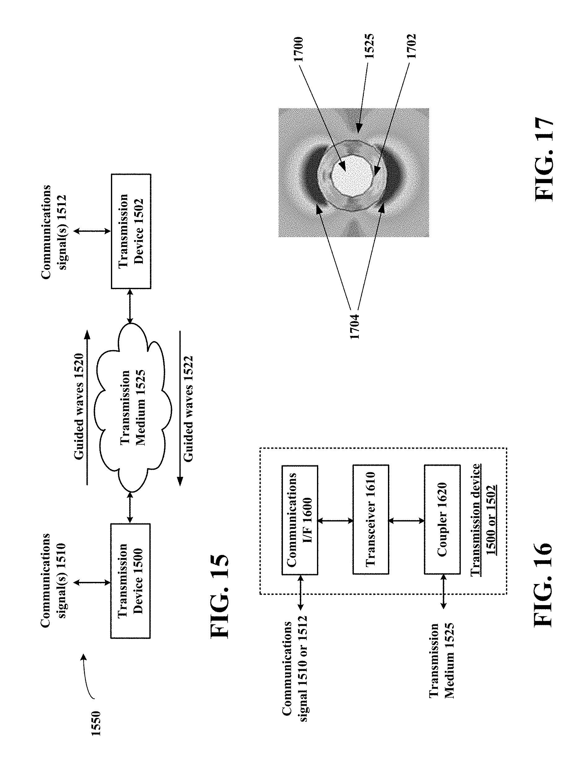 us b guided wave transmission device with non fundamental