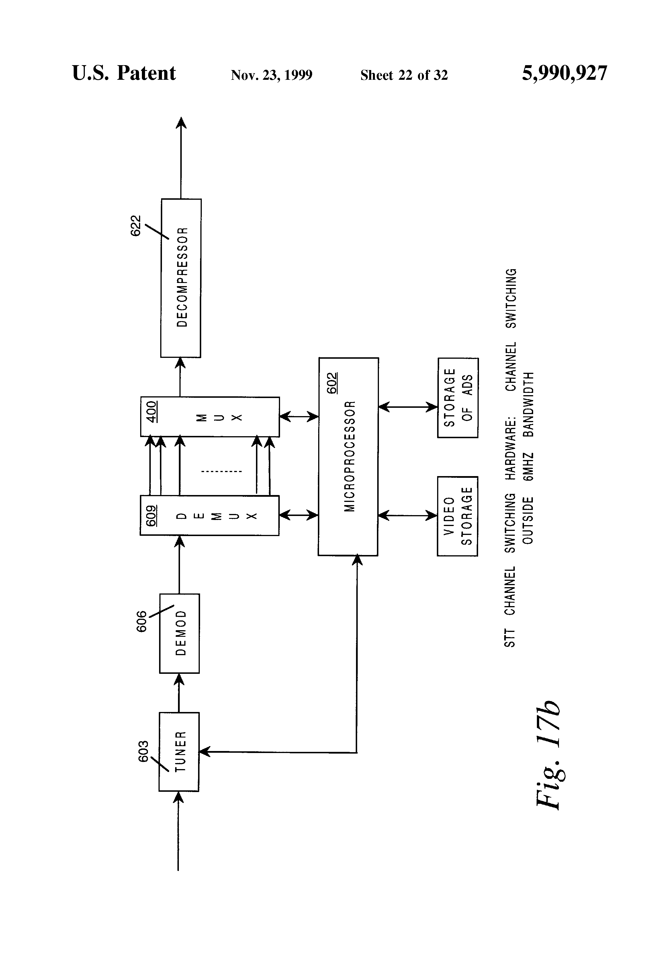 us5990927a advanced set top terminal for cable television delivery rh patents google com