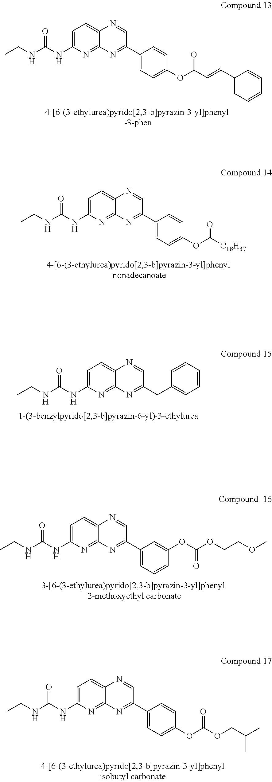 US8217042B2 - Pyridopyrazines and their use as modulators of kinases