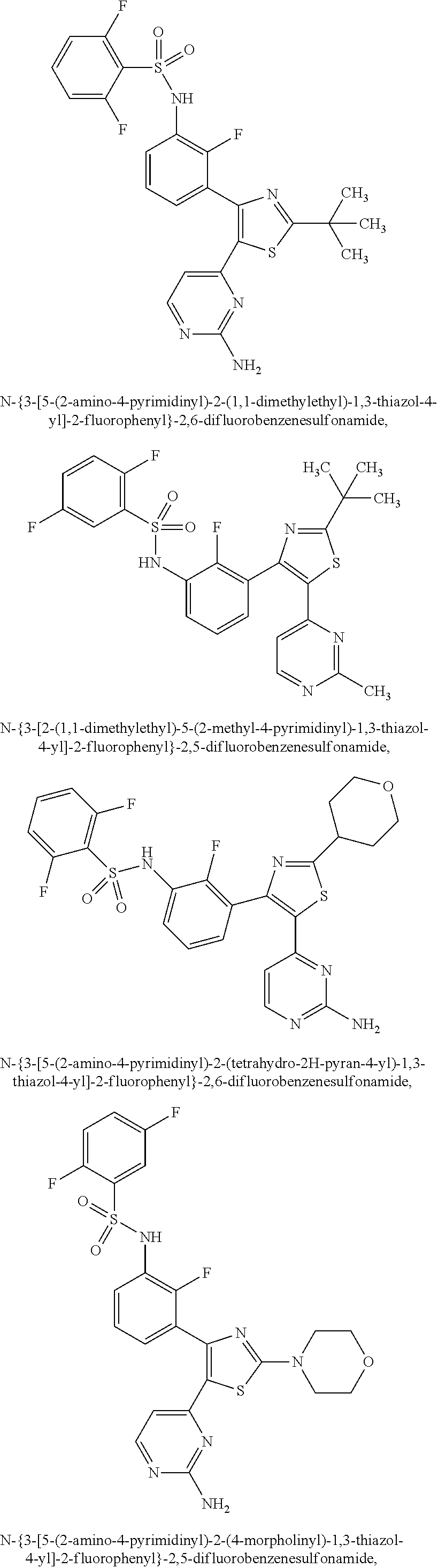 Us9233956b2 Benzene Sulfonamide Thiazole And Oxazole Compounds Bolens G174 Wiring Diagram Figure Us09233956 20160112 C00009