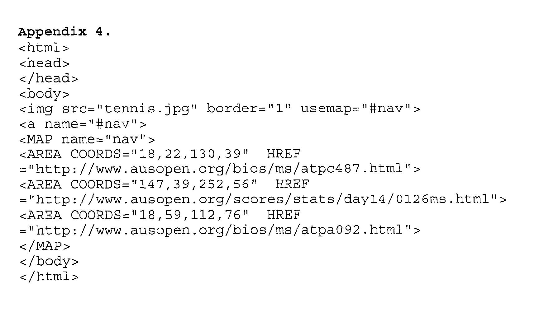 Figure US20030023640A1-20030130-P00005
