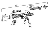 US20120144985A1 - Light Weight Machine Gun - Google Patents