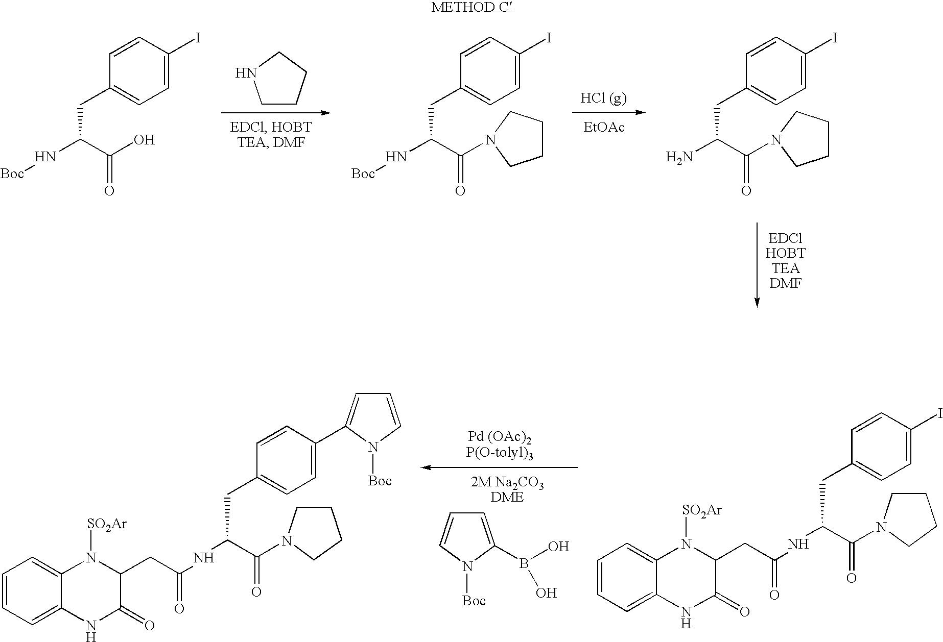US A1 Sulfonylquinoxalone acetamide derivatives as
