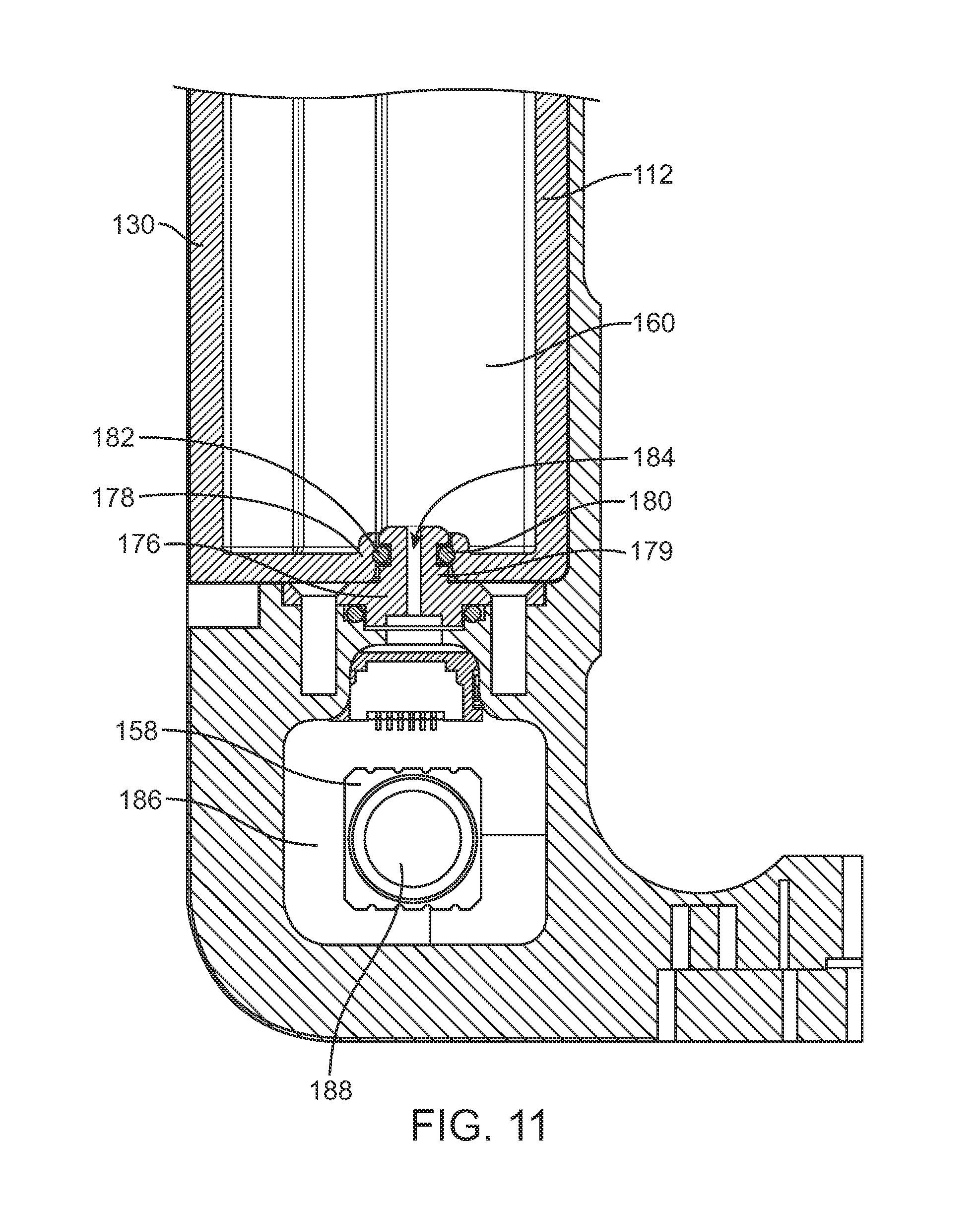US B2 Infusion pump system with disposable cartridge having