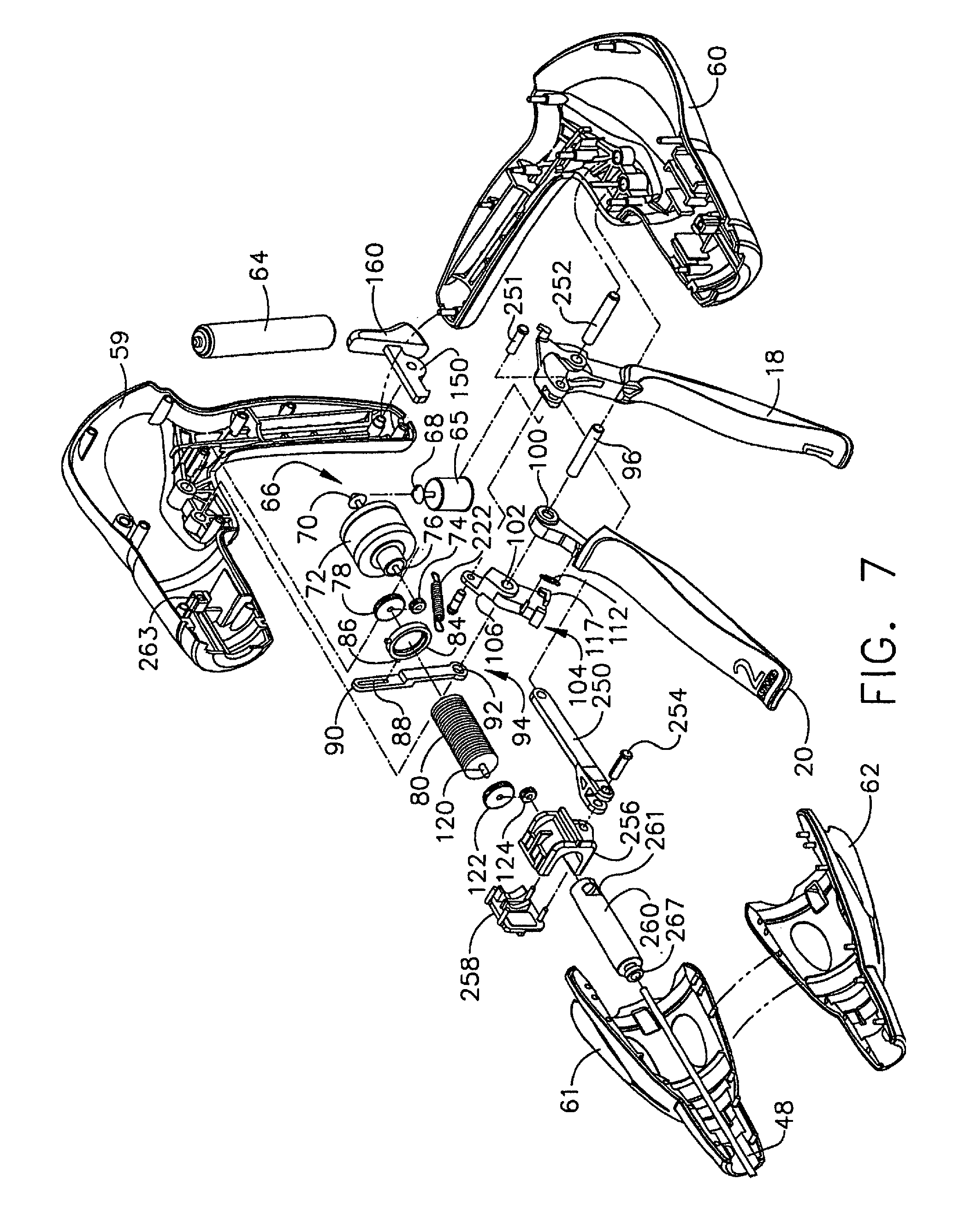 US B2 Surgical instrument having force feedback capabilities