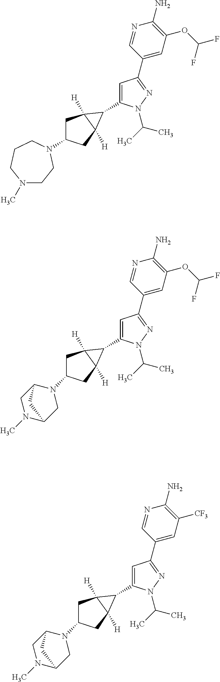 us9365583b2 substituted pyrazoles and uses thereof patents F-22 Wallpaper figure us09365583 20160614 c00087
