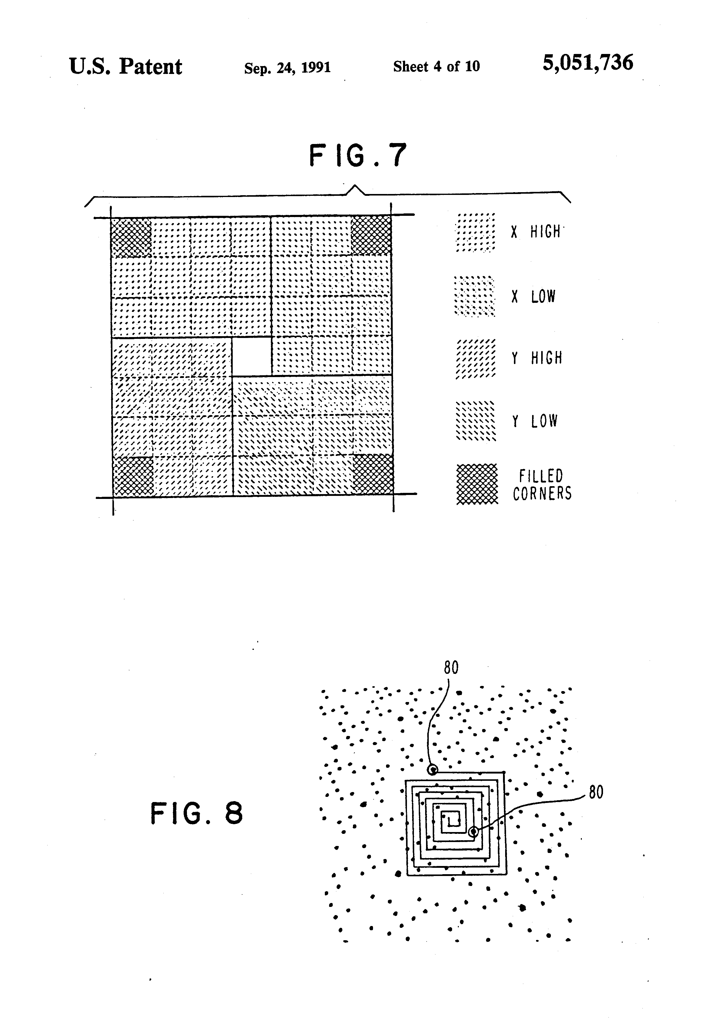 US5051736A - Optical stylus and passive digitizing tablet