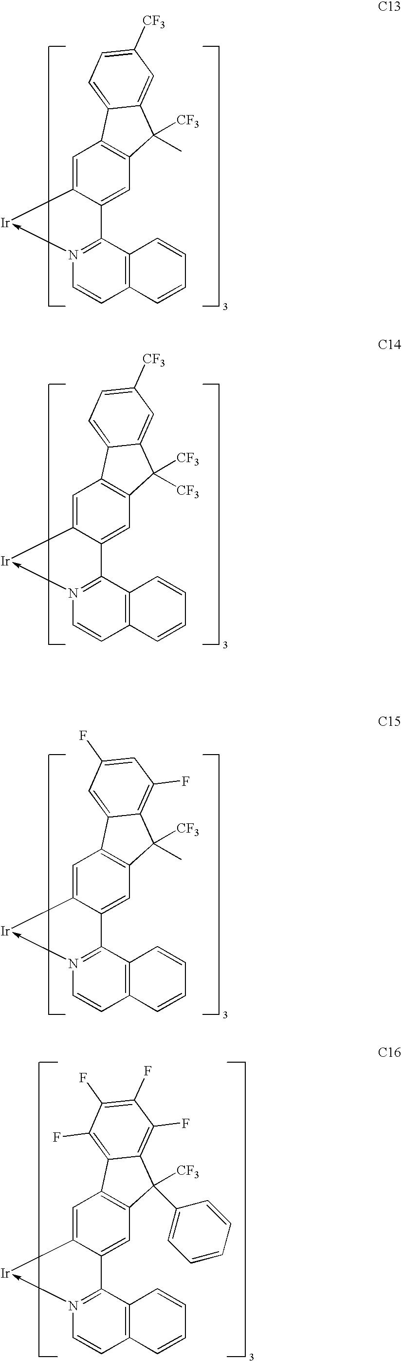 US8067099B2 - Phosphorescent material, and organic