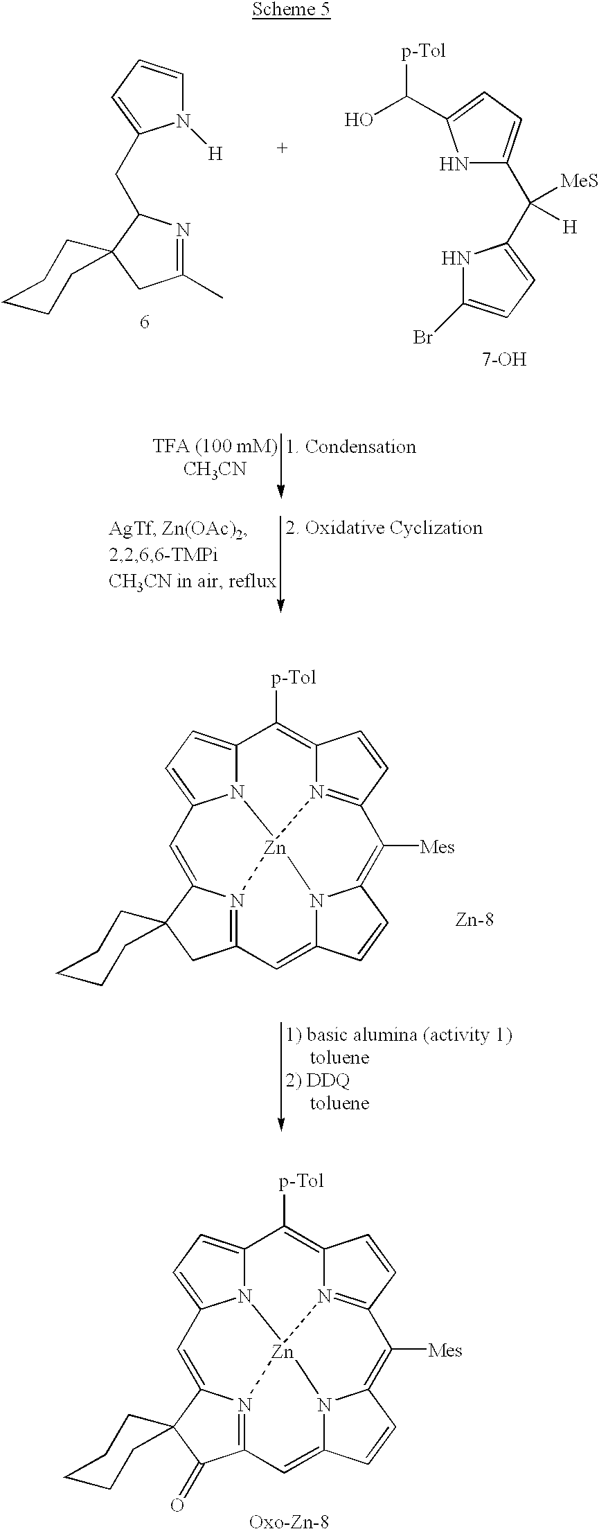 US20020137925A1 - Regioisomerically pure oxochlorins and