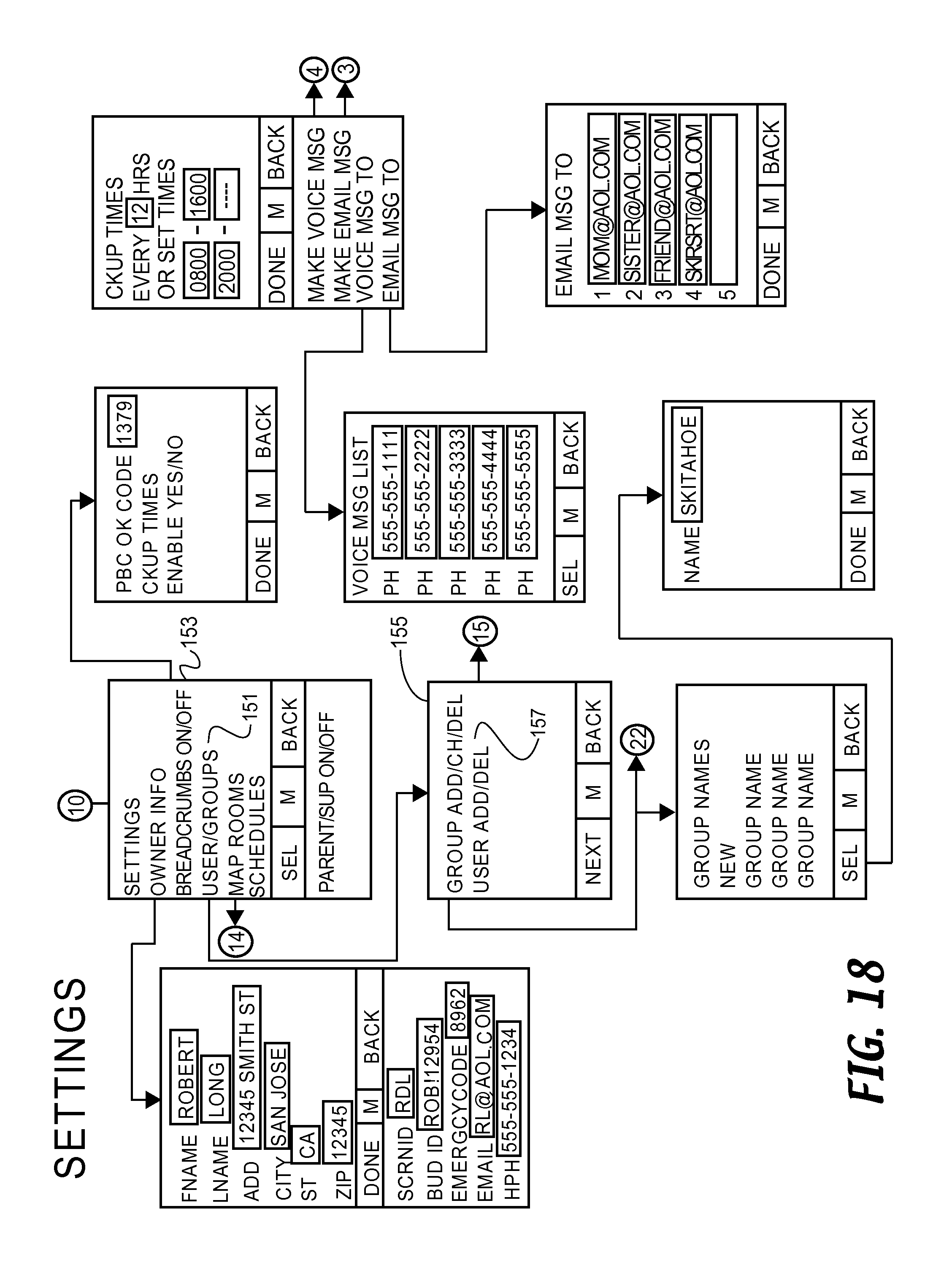 Us8750898b2 Methods And Systems For Annotating Target Locations Door Ajar Alarm Circuit Tiny Guard With 555 Google Patents
