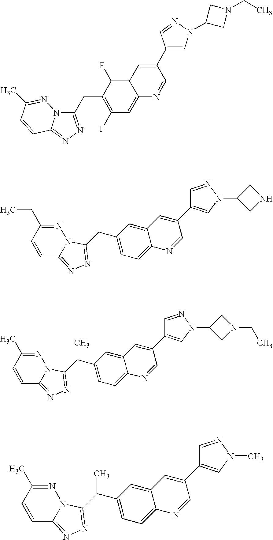 us8071581b2 triazolopyridazine protein kinase modulators Residential Electrical Meter Wiring Diagram figure us08071581 20111206 c00051