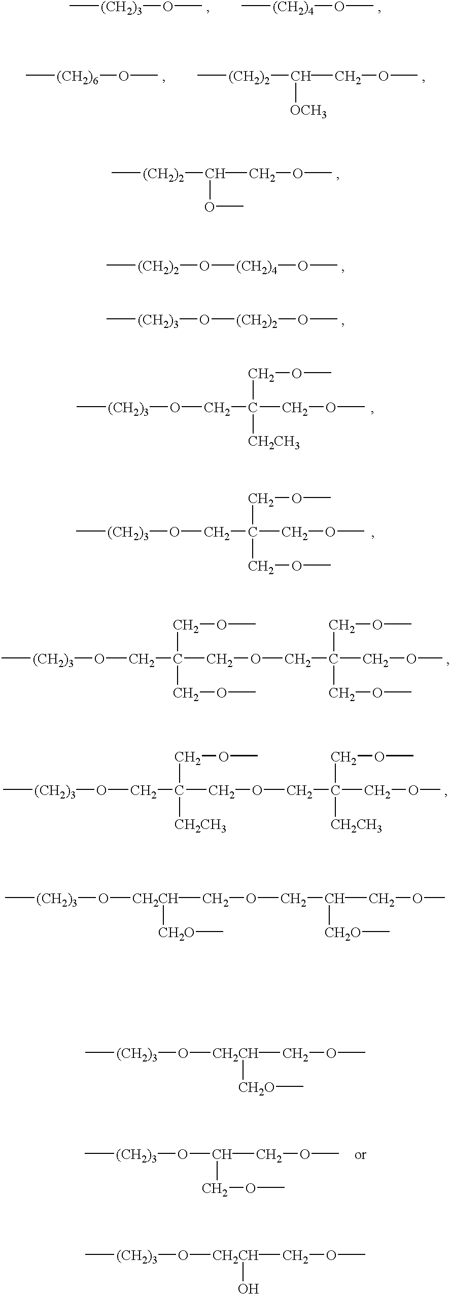 US20030064232A1 - Siloxane-containing compositions curable by