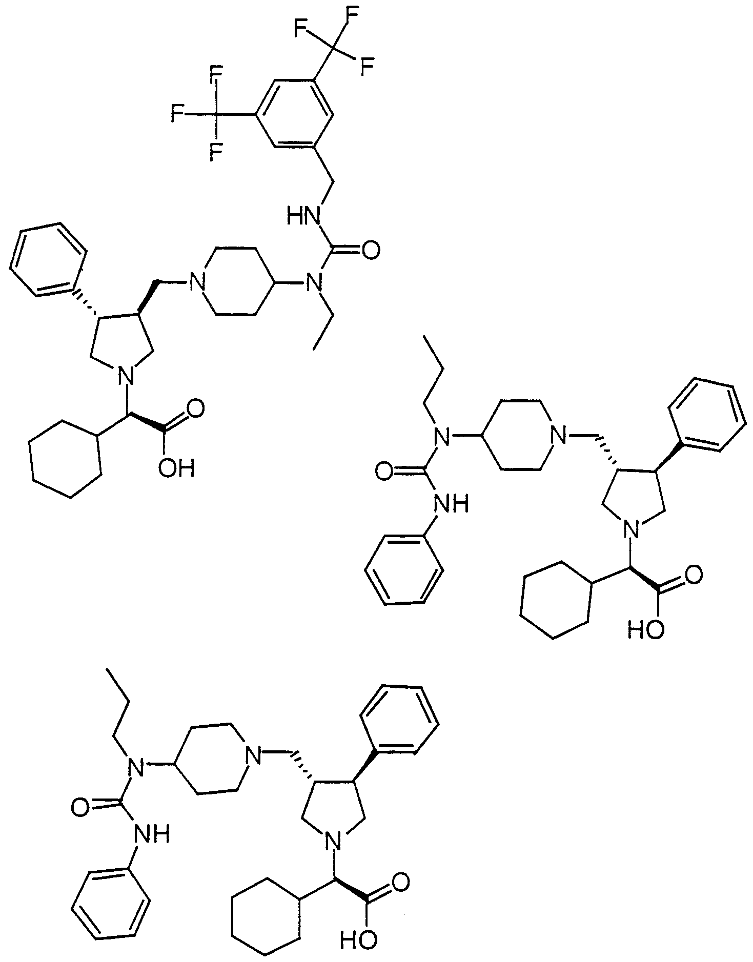 wo2000059497a1 pyrrolidine modulators of chemokine receptor Engineered Structures Inc figure imgf000041 0001