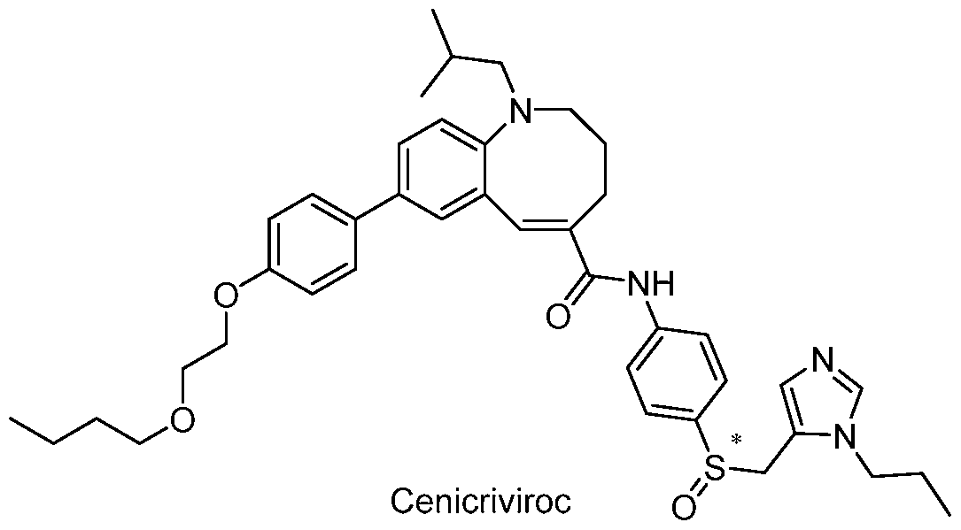 WO2018045043A1 - Solid forms of cenicriviroc mesylate and