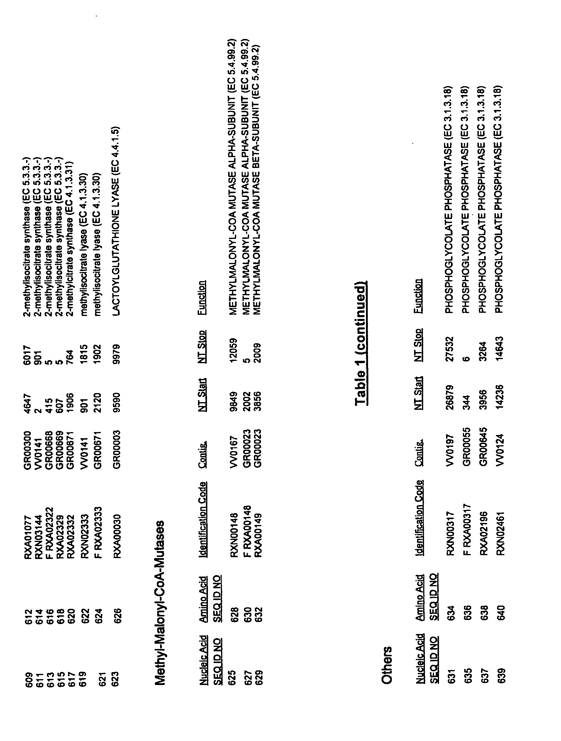 EP2292763A1 - Corynebacterium glutamicum genes encoding proteins