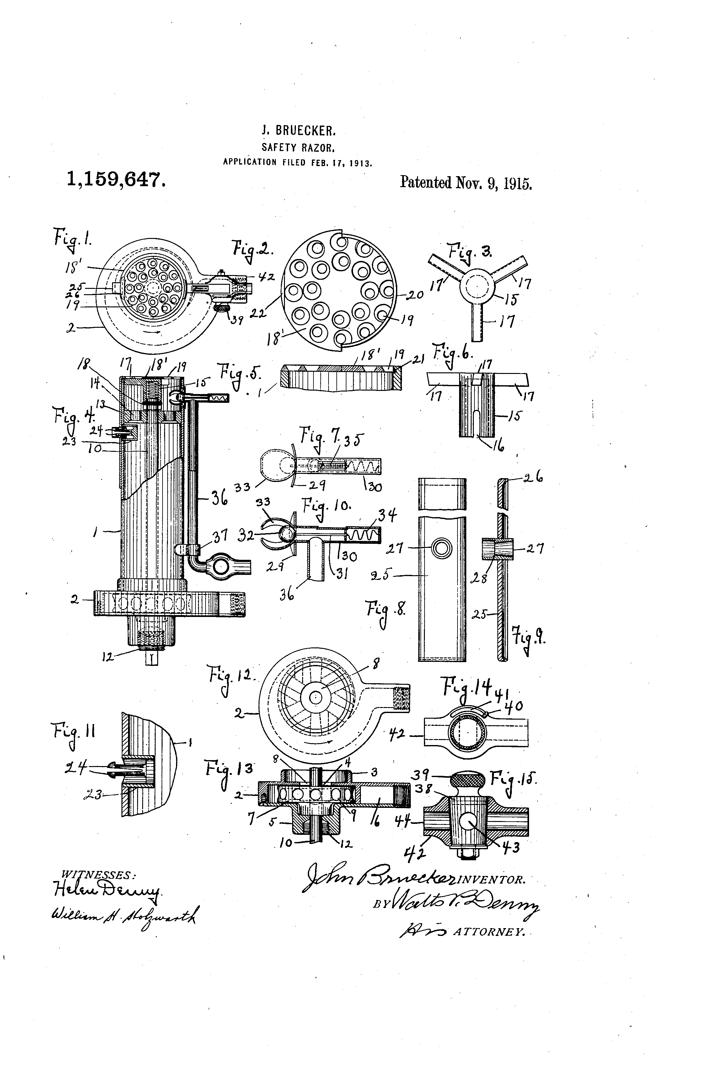 US1159647A patent drawings