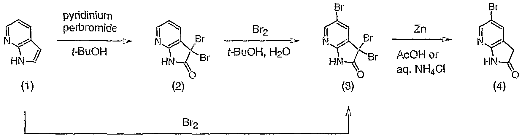 WO2004078757A2 - Synthesis of 5-substituted 7-azaindoles and