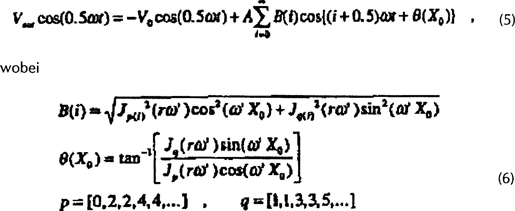 DE69736457T2 - Interatomare Messtechnik - Google Patents