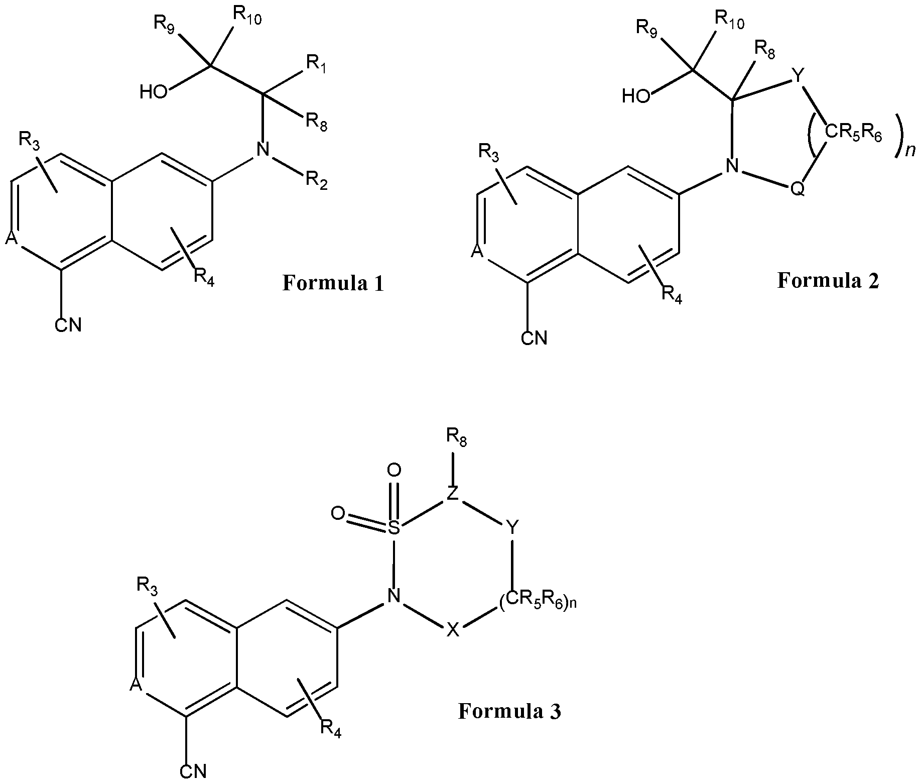 WO2015181676A1 - Carbonitrile derivatives as selective