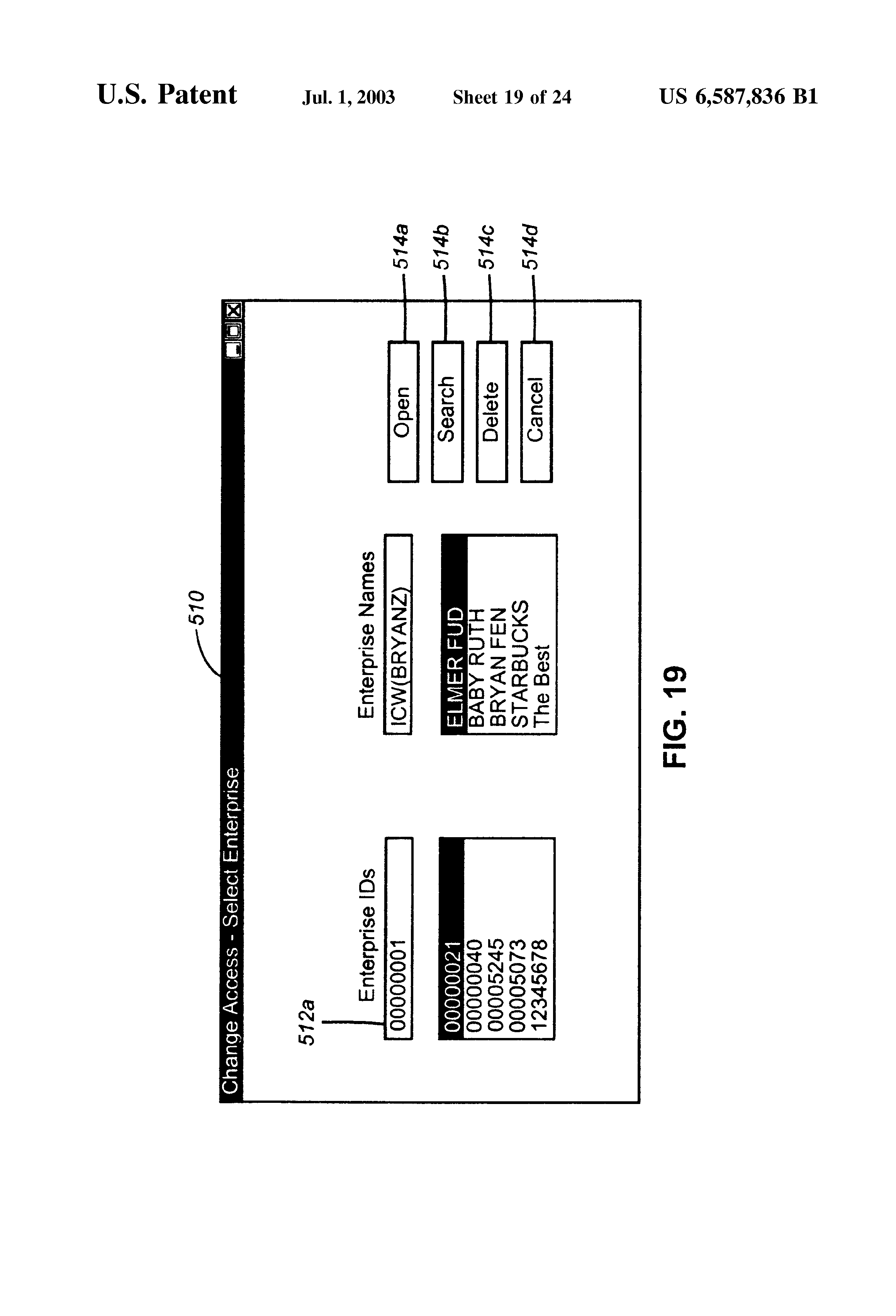 US6587836B1 - Authentication and entitlement for users of web based