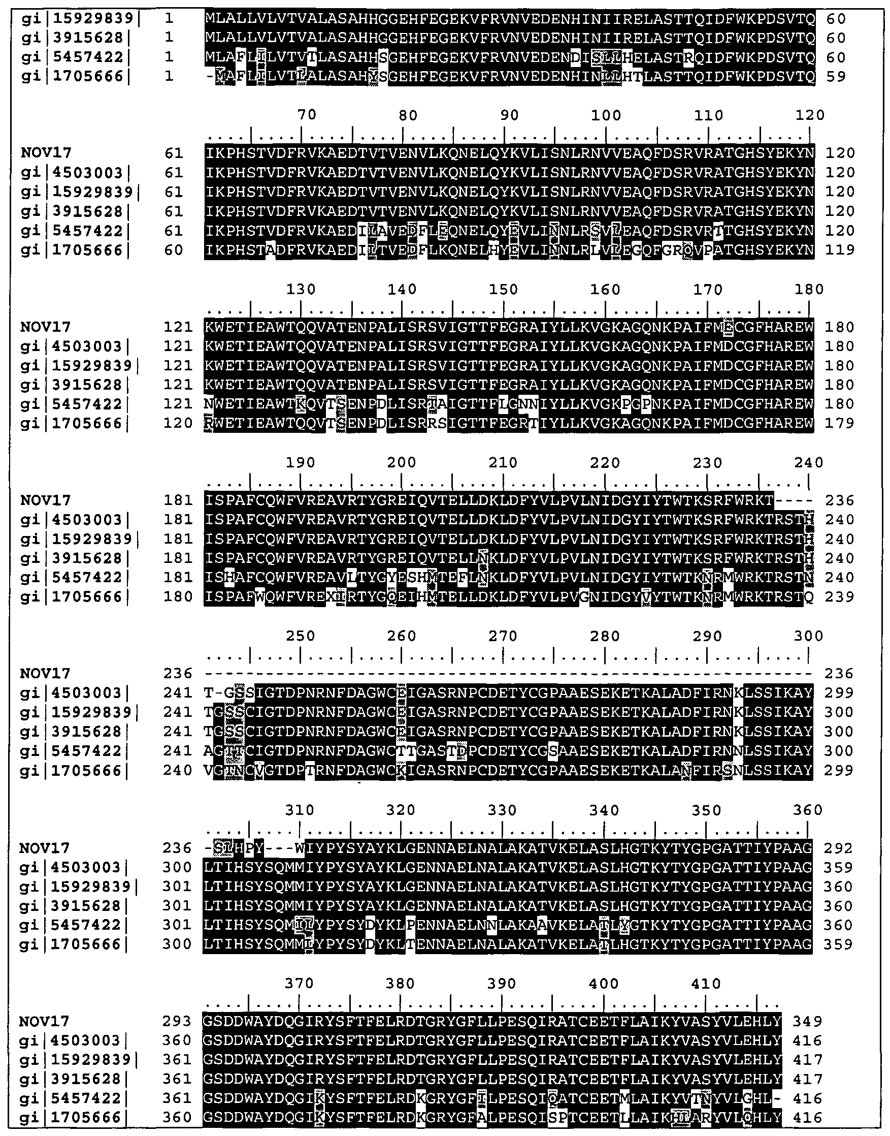 c01c712782e WO2002098917A2 - Human proteins and nucleic acids encoding same ...