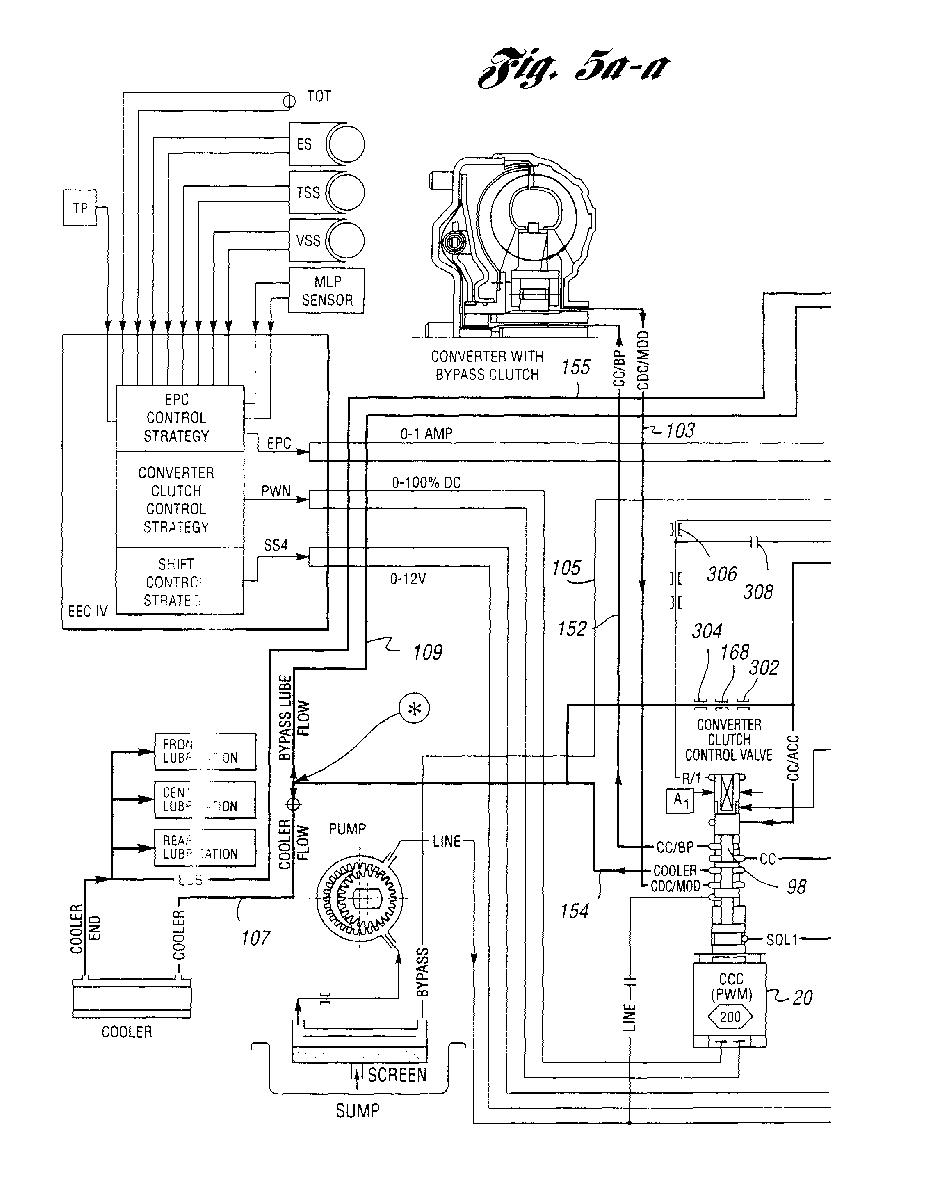 Ep0814285a2 Multiple Ratio Automatic Transmission And Torque Manual Clutch Diagram 1 Exploded View Of The Figure Imgaf001