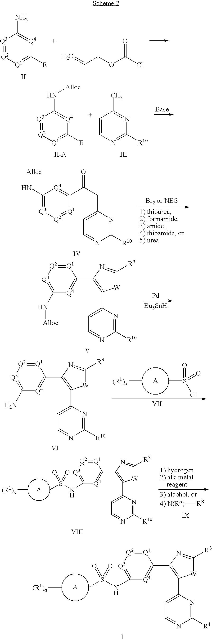 Us20090298815a1 Benzene Sulfonamide Thiazole And Oxazole Compounds Bolens G174 Wiring Diagram Figure 20091203 C00076