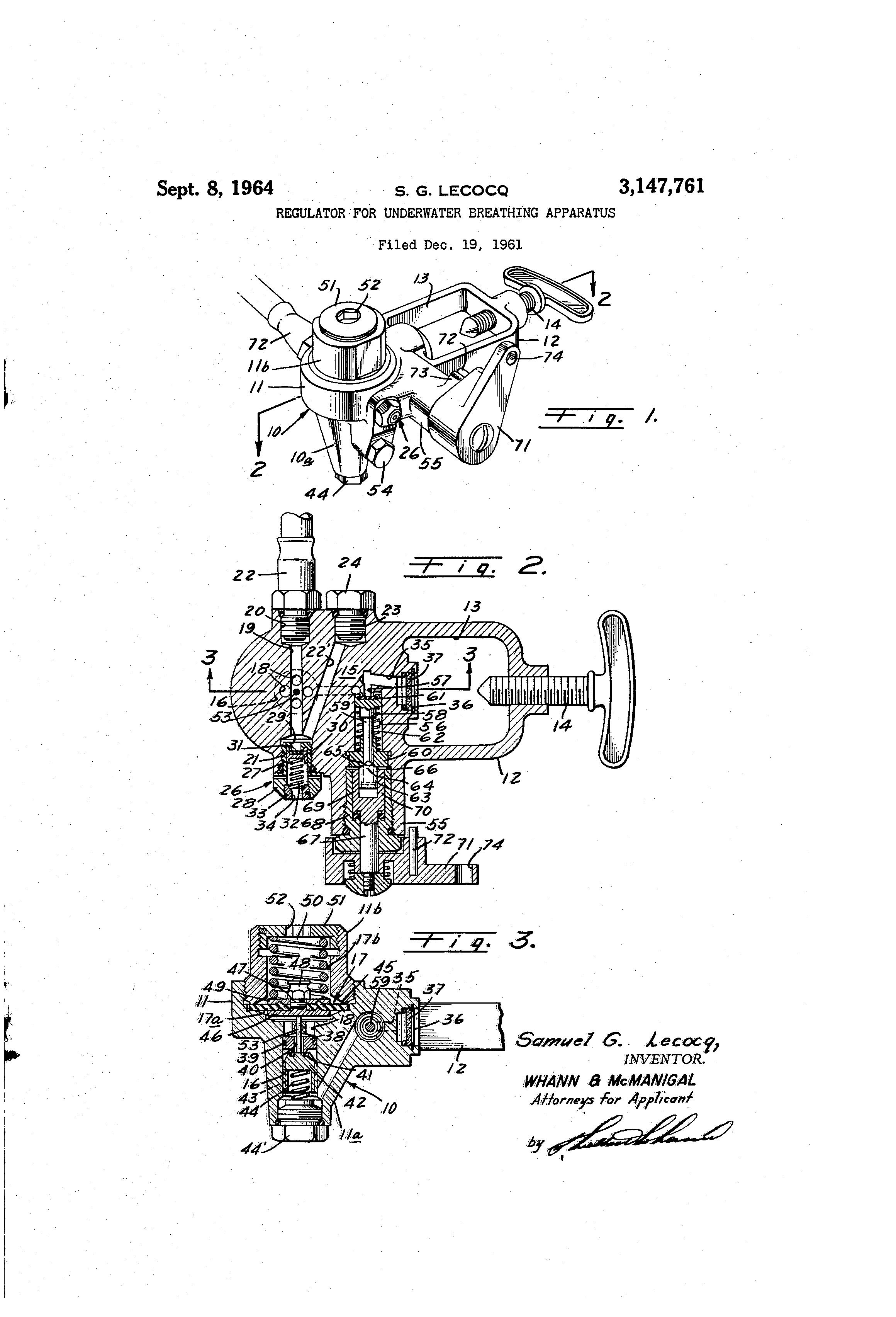 Mini US Divers Tank and Aquamatic Regulator   Vintage Scuba