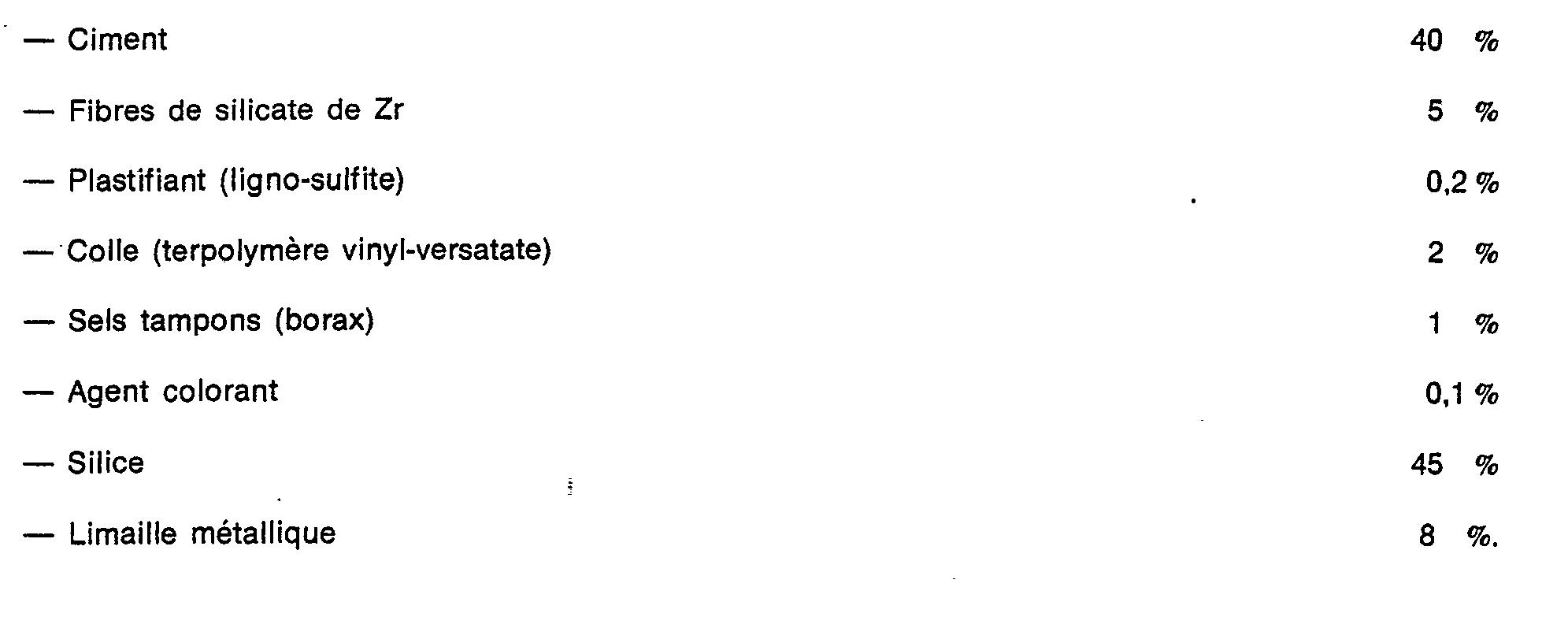 Epaisseur Enduit Sur Parpaing ep0008254b1 - composition hydrofuge en poudre à base de