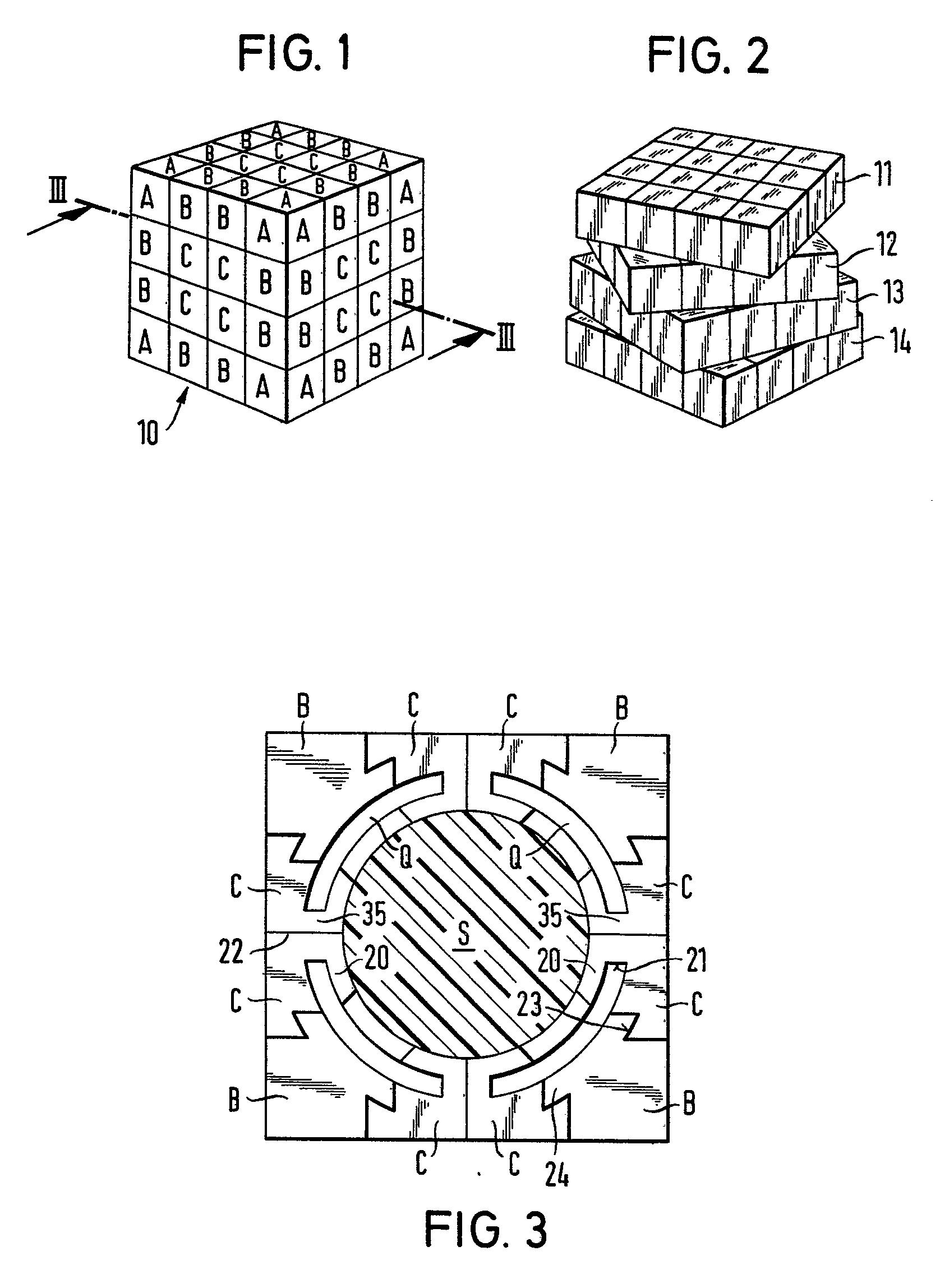 sketsa rancangan cube revenge 4x4x4