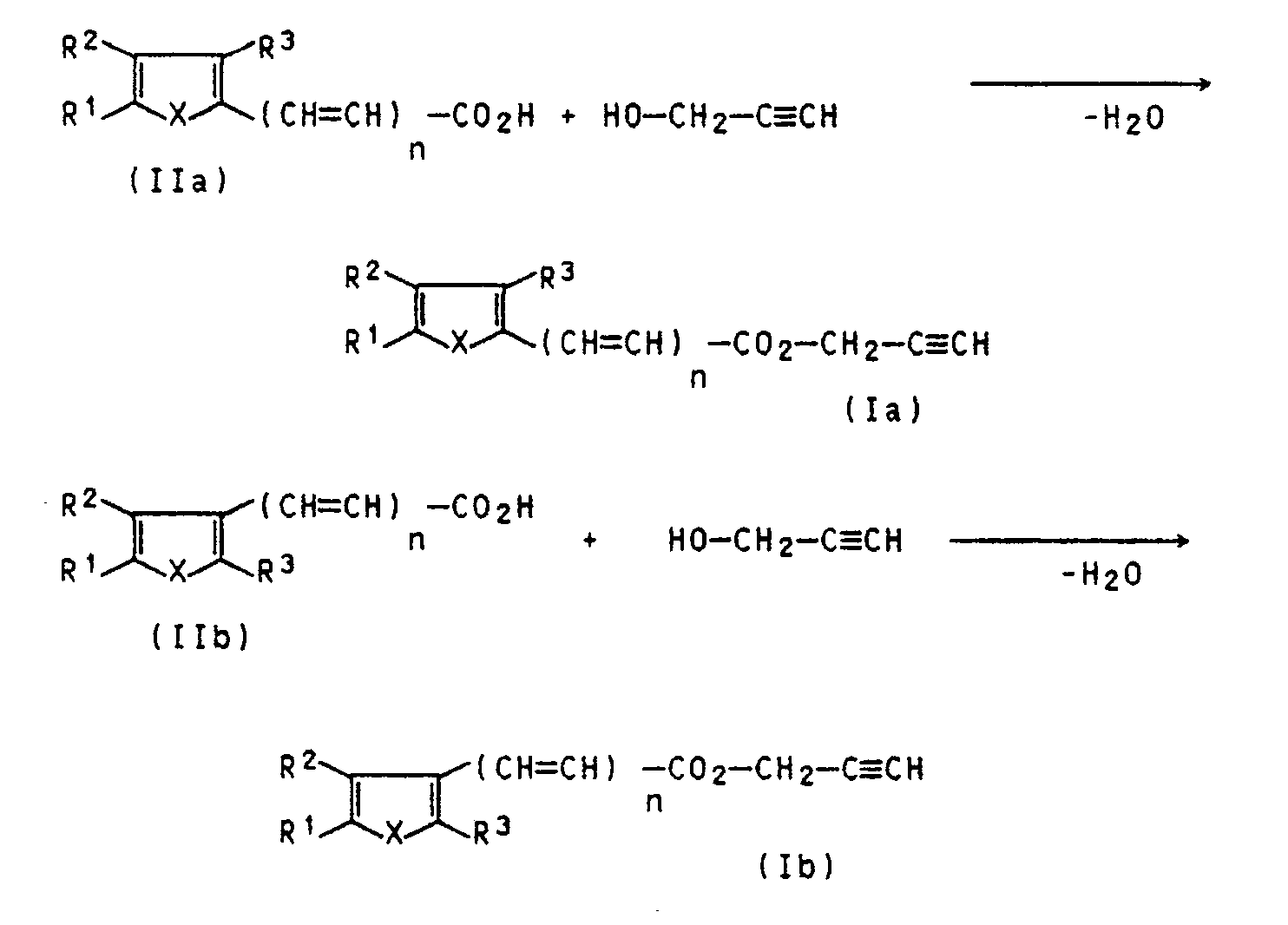 Ep0258790b1 Furan Or Thiophenecarboxylic Acid Propargyl Esters