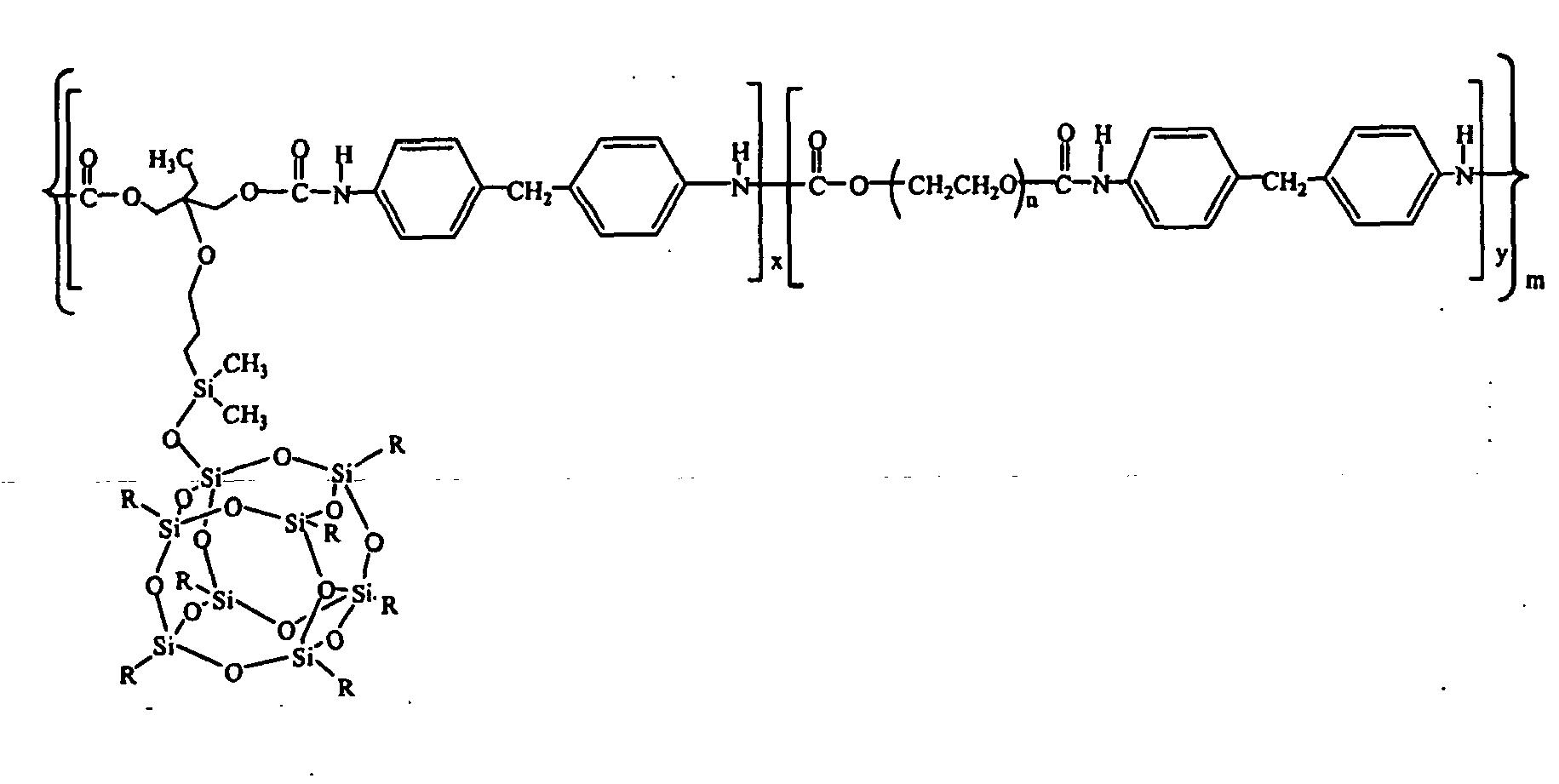 EP1554328B1 - Shape memory polymers based on semicrystalline
