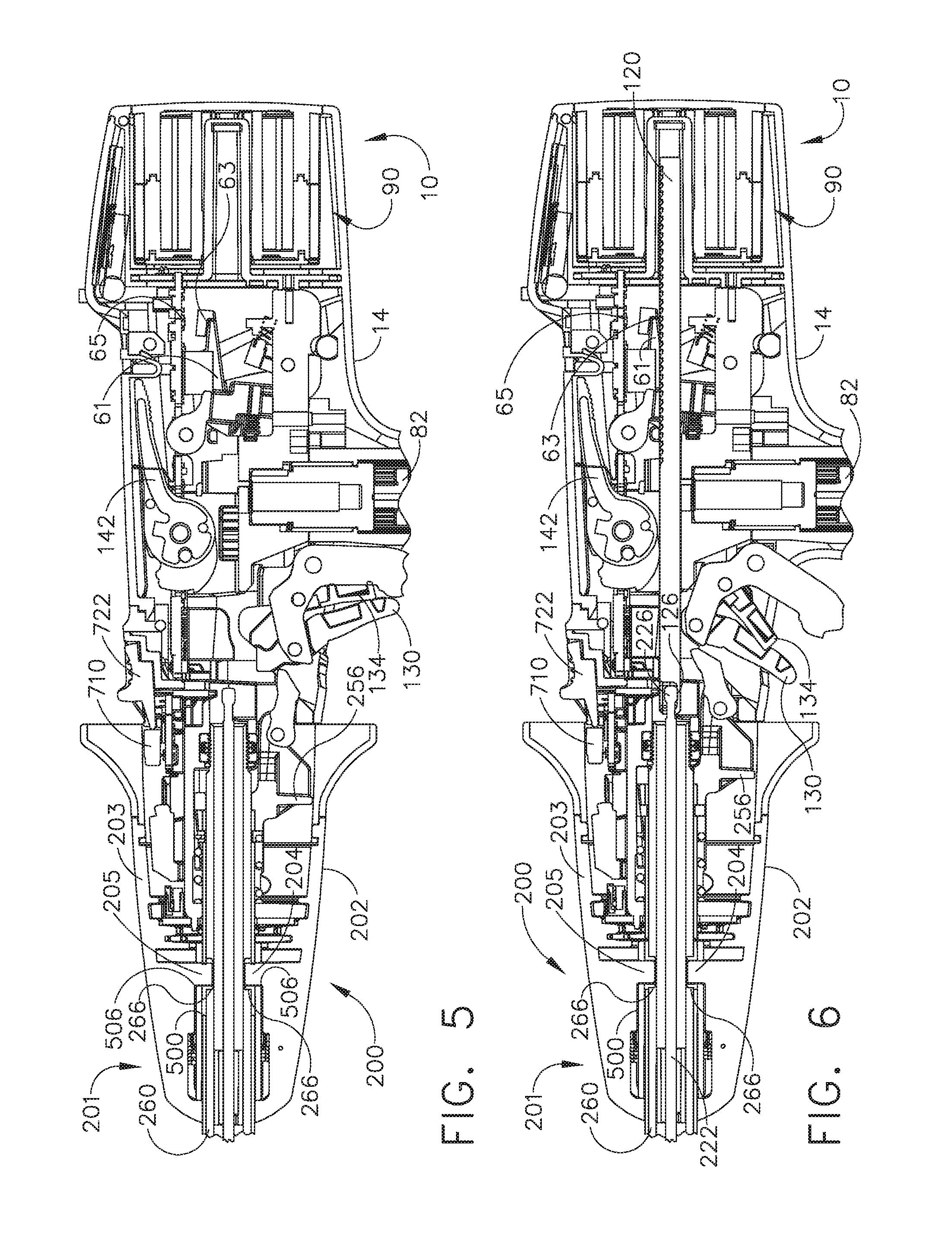 Us9743929b2 Modular Powered Surgical Instrument With Detachable 2005 John Deere 3120 Fuse Box Diagram Shaft Assemblies Google Patents
