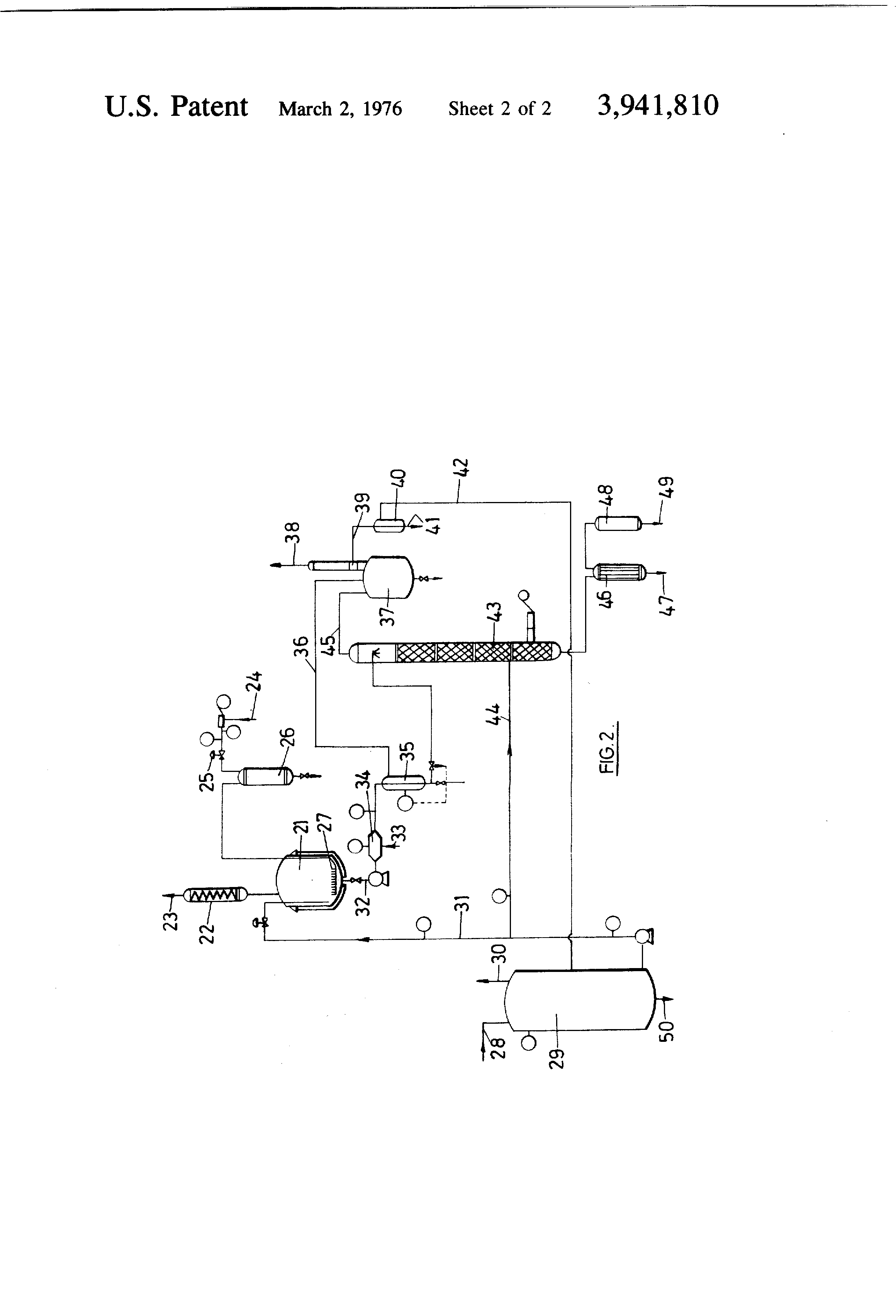 US3941810A - Sulfonation of aromatic compounds in the