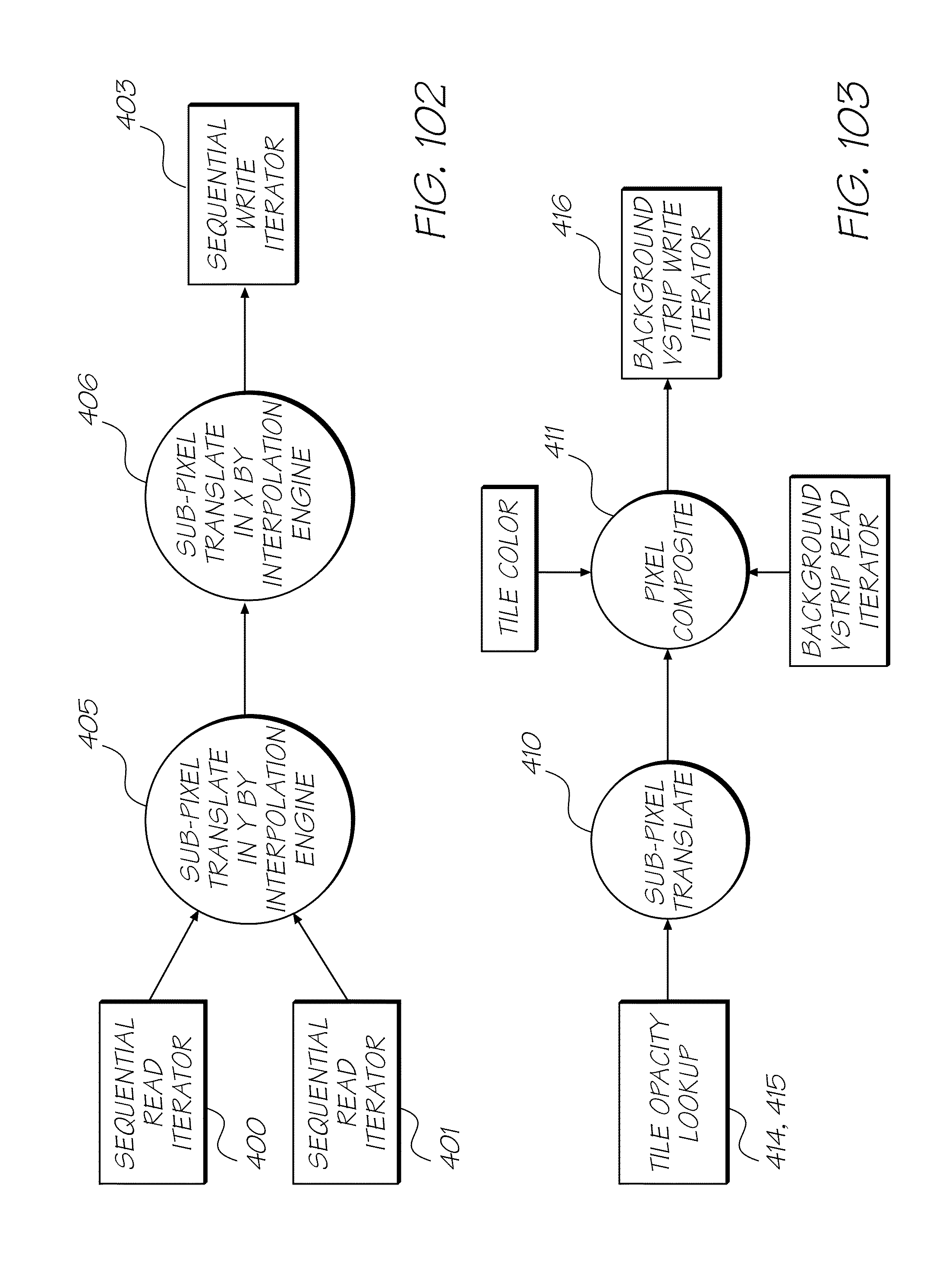 US8902324B2 - Quad-core image processor for device with