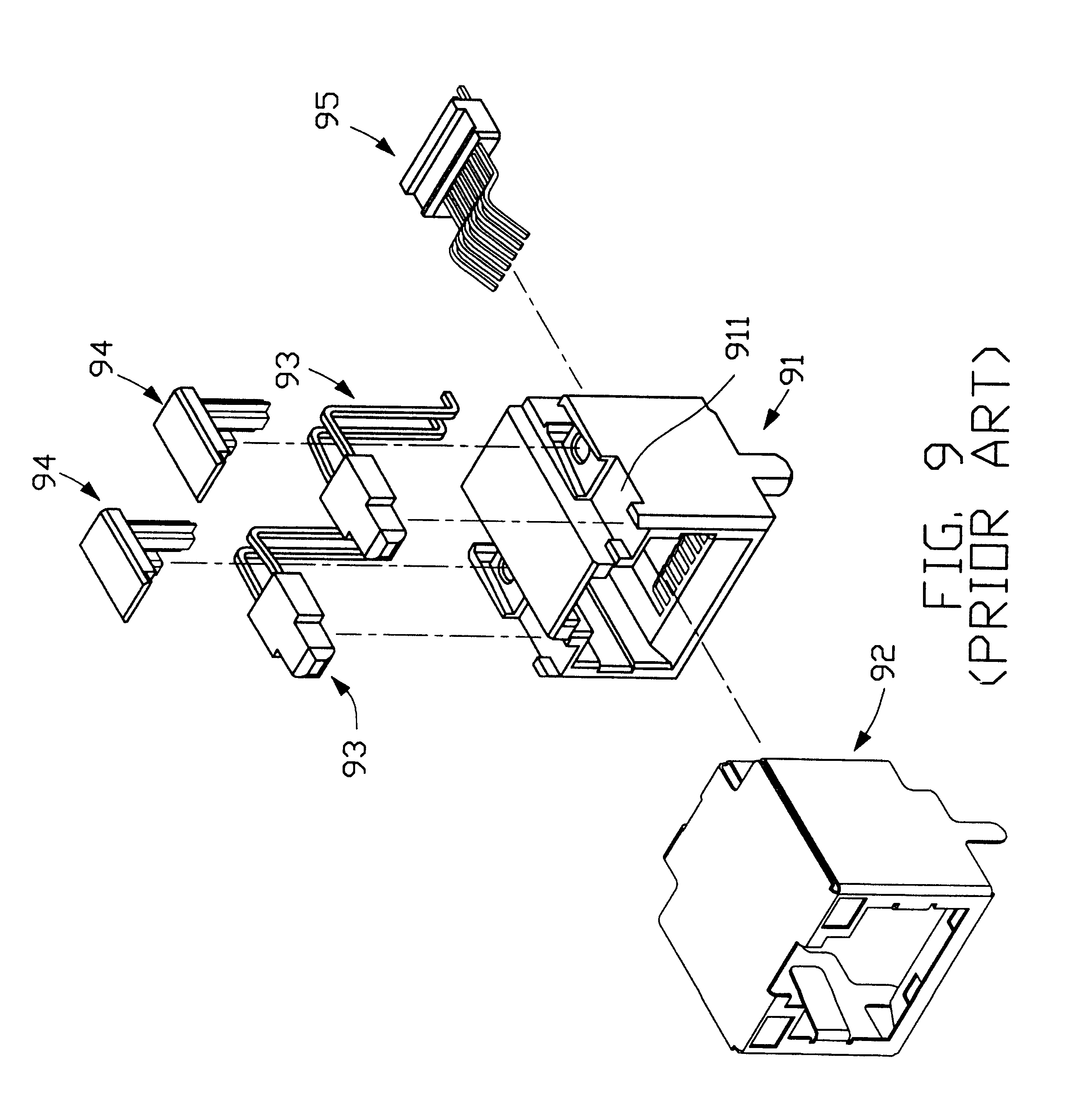 US6478610B1 - Electrical connector embly - Google Patents on
