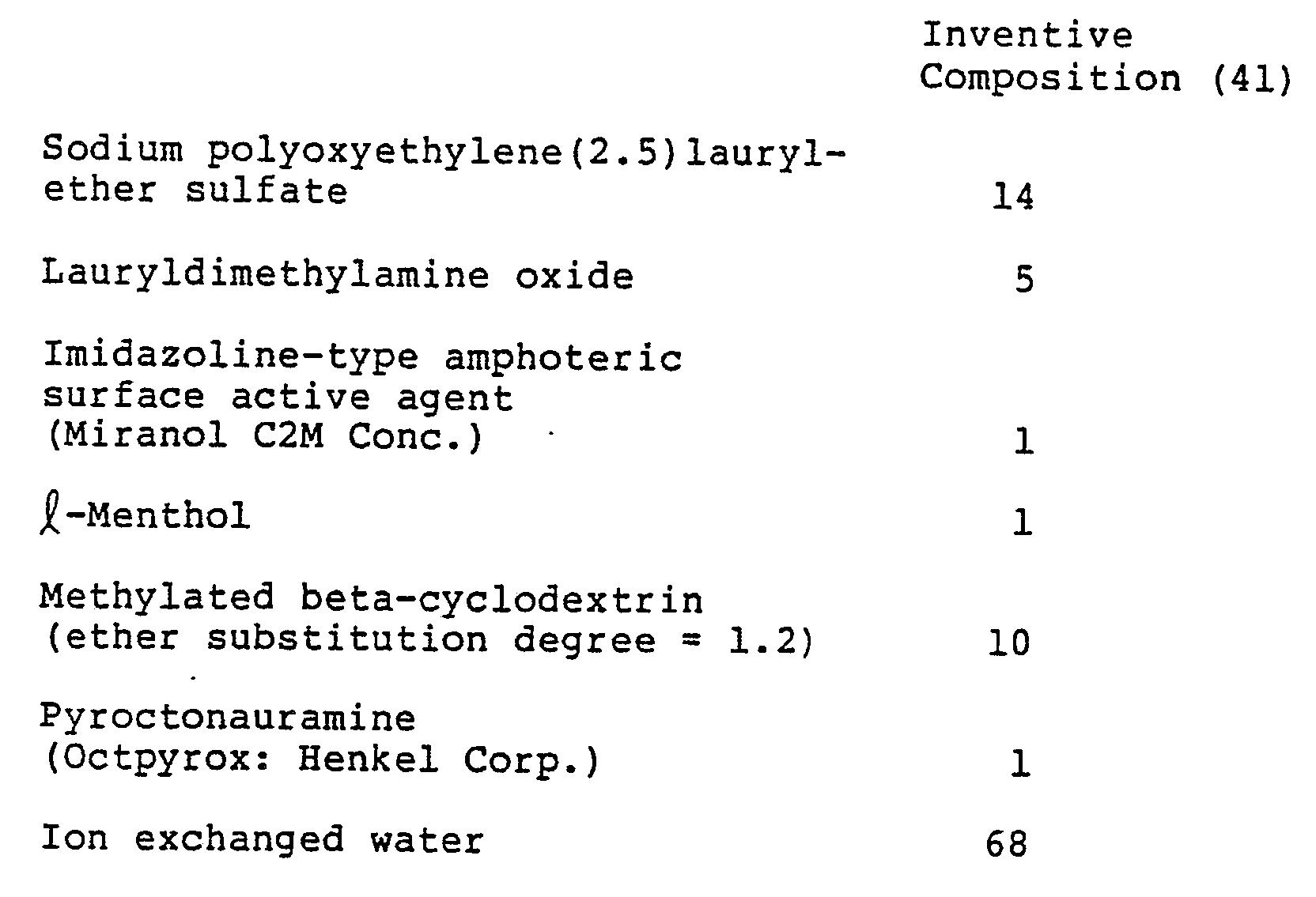 EP0211392B1 - Liquid shampoo composition - Google Patents