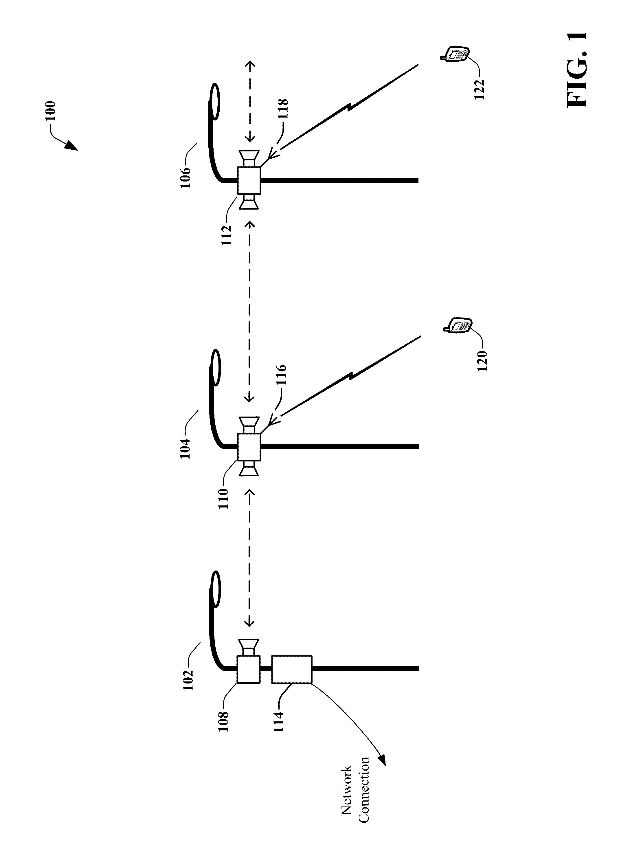 US9525524B2 - Remote distributed antenna system - Google Patents