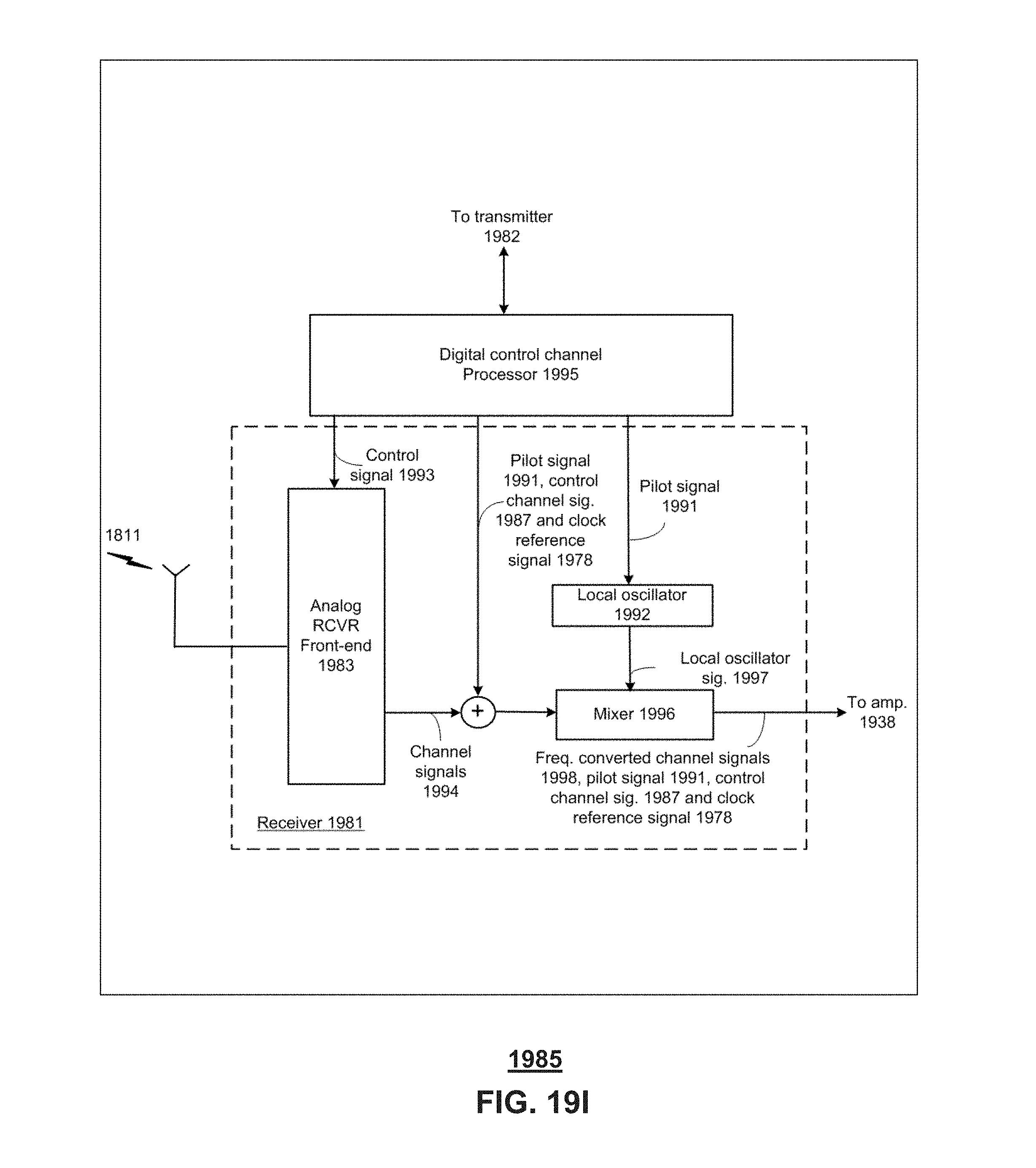 Us9860075b1 Method And Communication Node For Broadband Pilot Ke Controller Wiring Diagram Distribution Google Patents