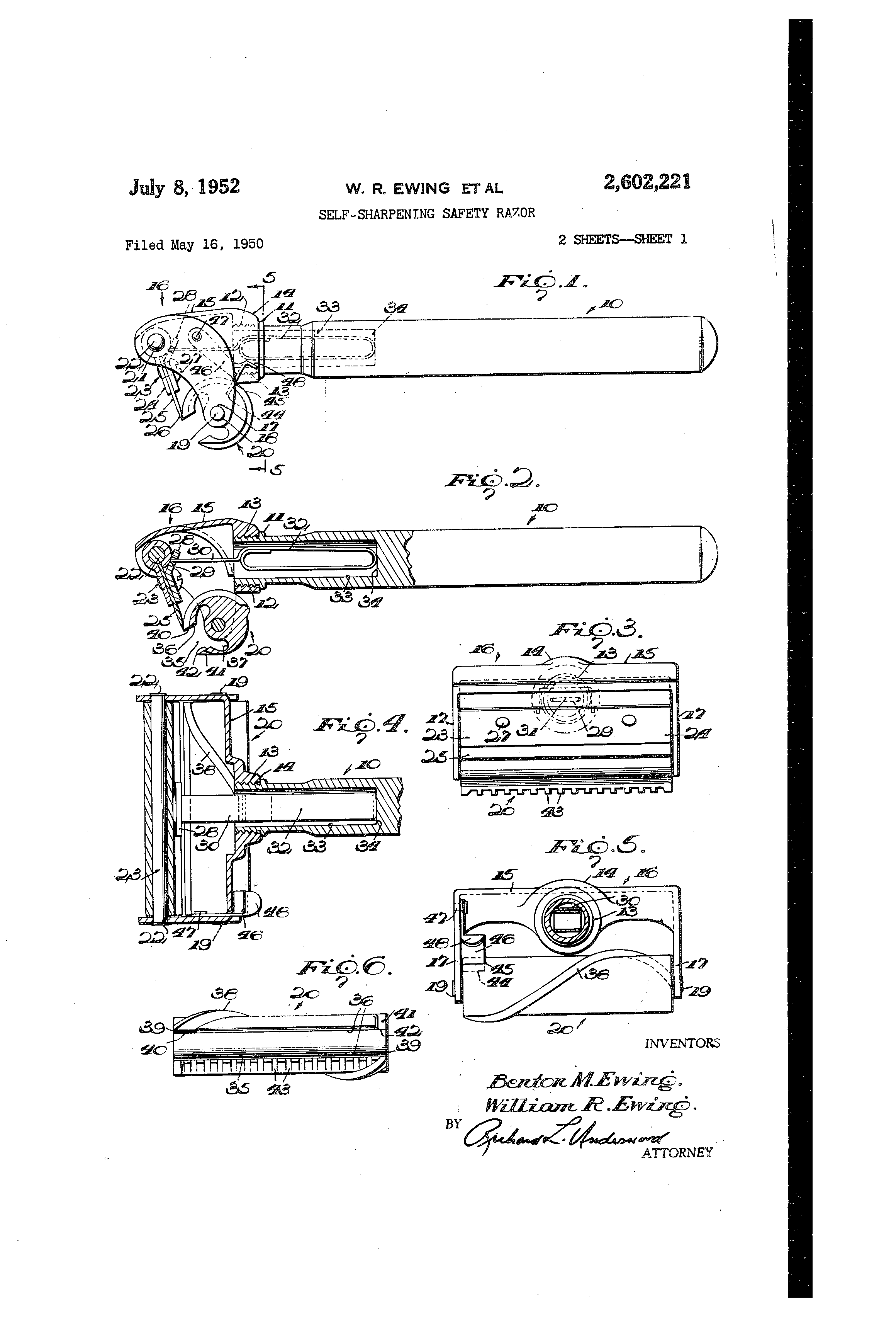 [Image: US2602221-drawings-page-1.png]